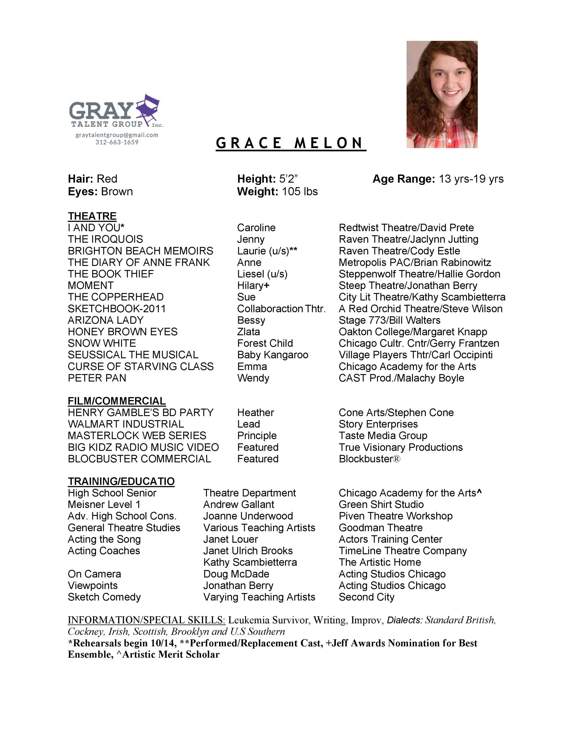 Free acting resume template 41
