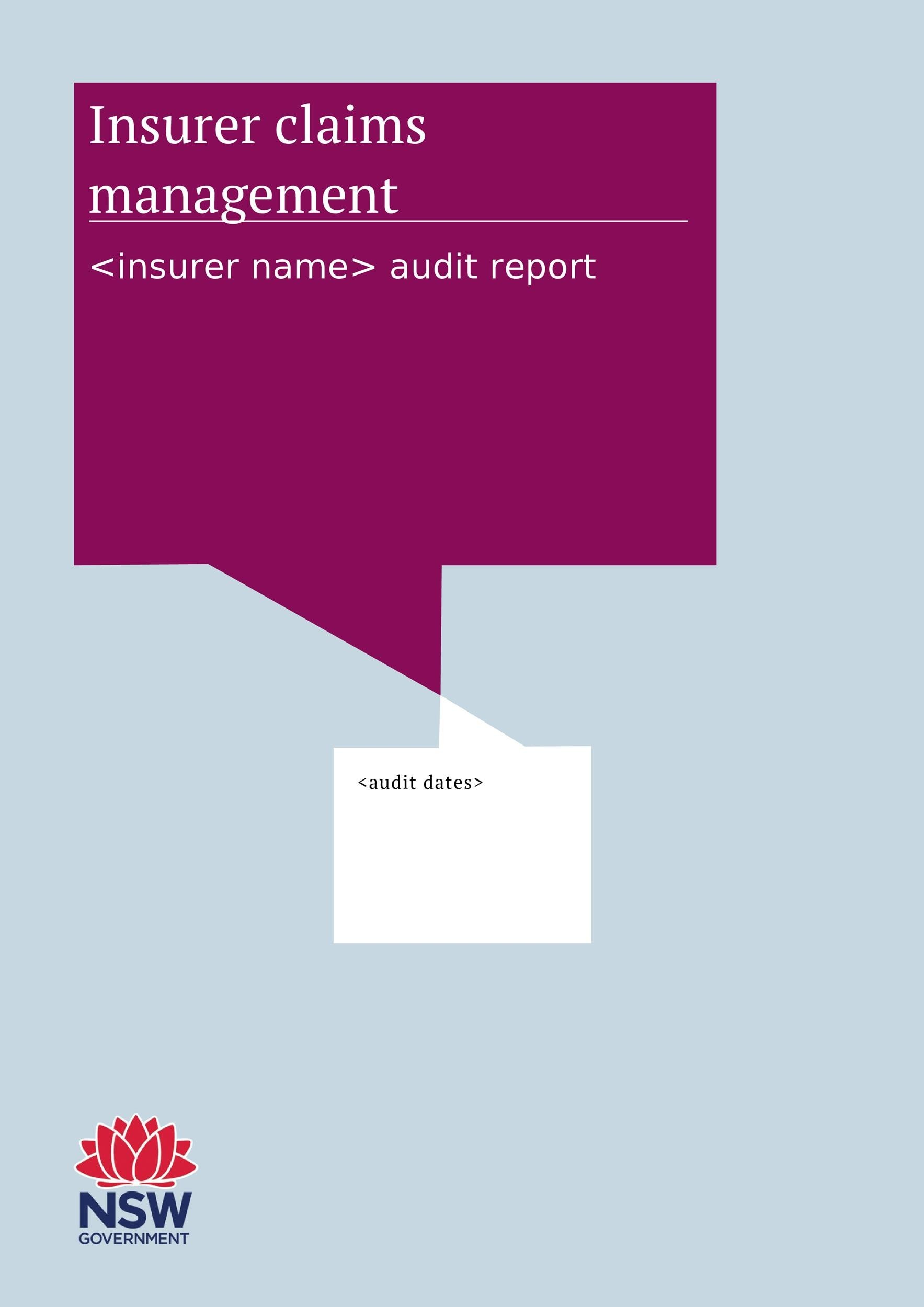 Free audit report template 32