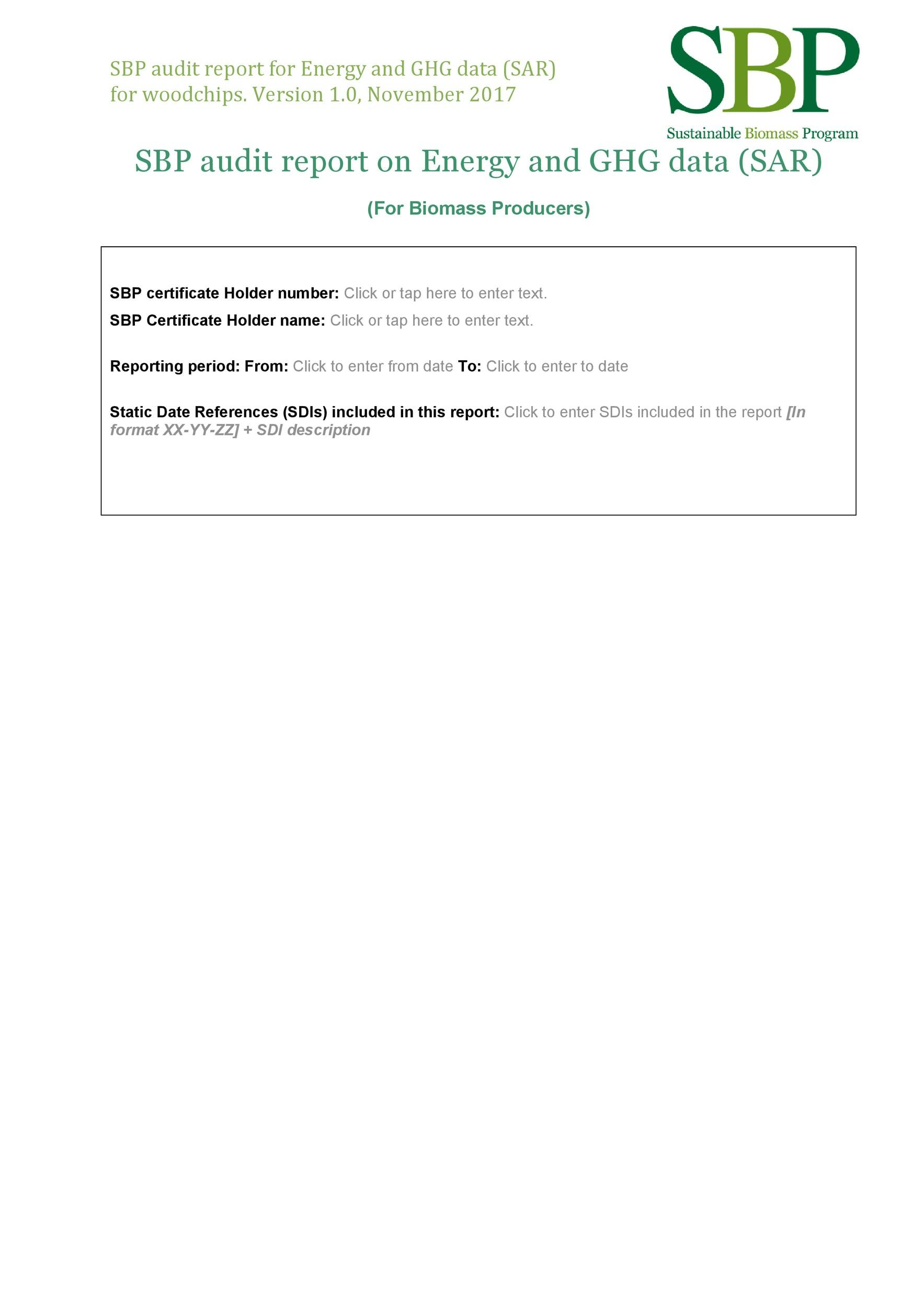 Free audit report template 42