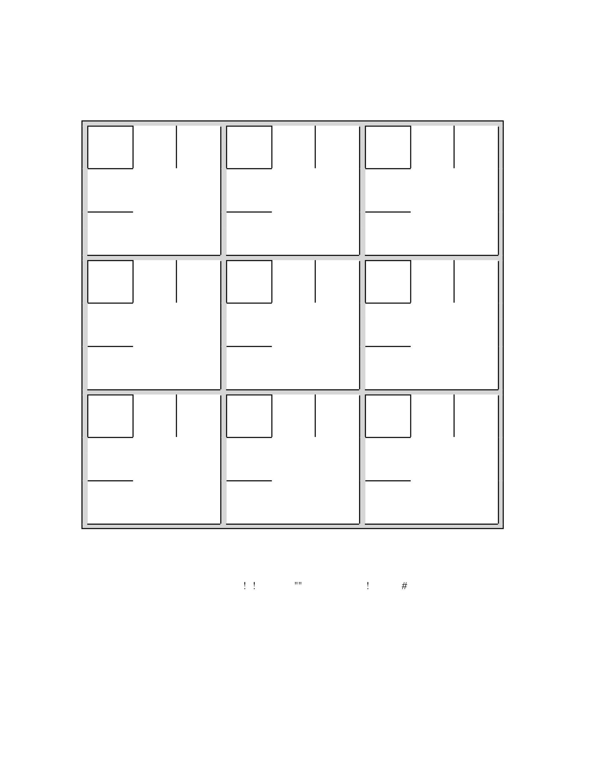 picture relating to Printable Sudoku Grids called 50 Blank Sudoku Grids [Cost-free Printable] ᐅ Template Lab