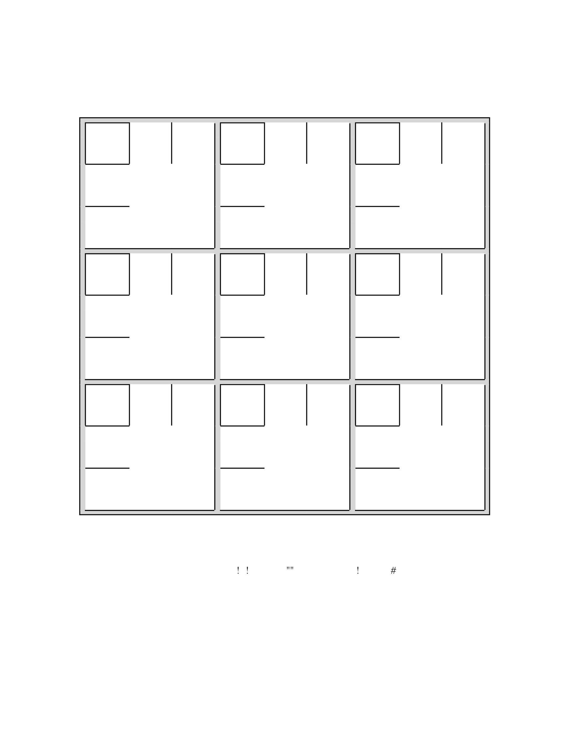 Free blank sudoku grid 02