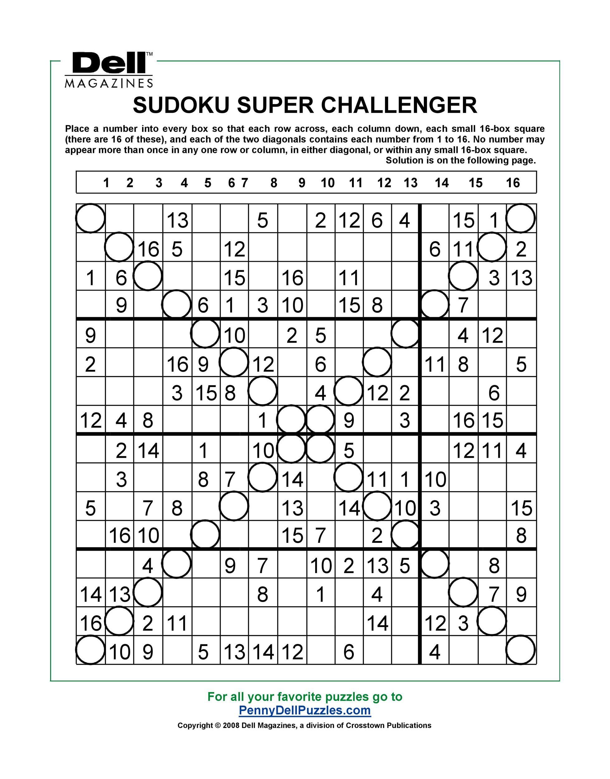 Free blank sudoku grid 04