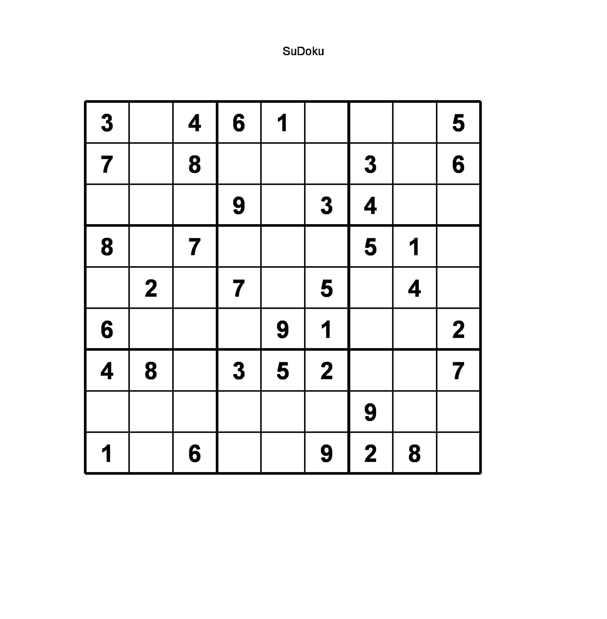 Free blank sudoku grid 06
