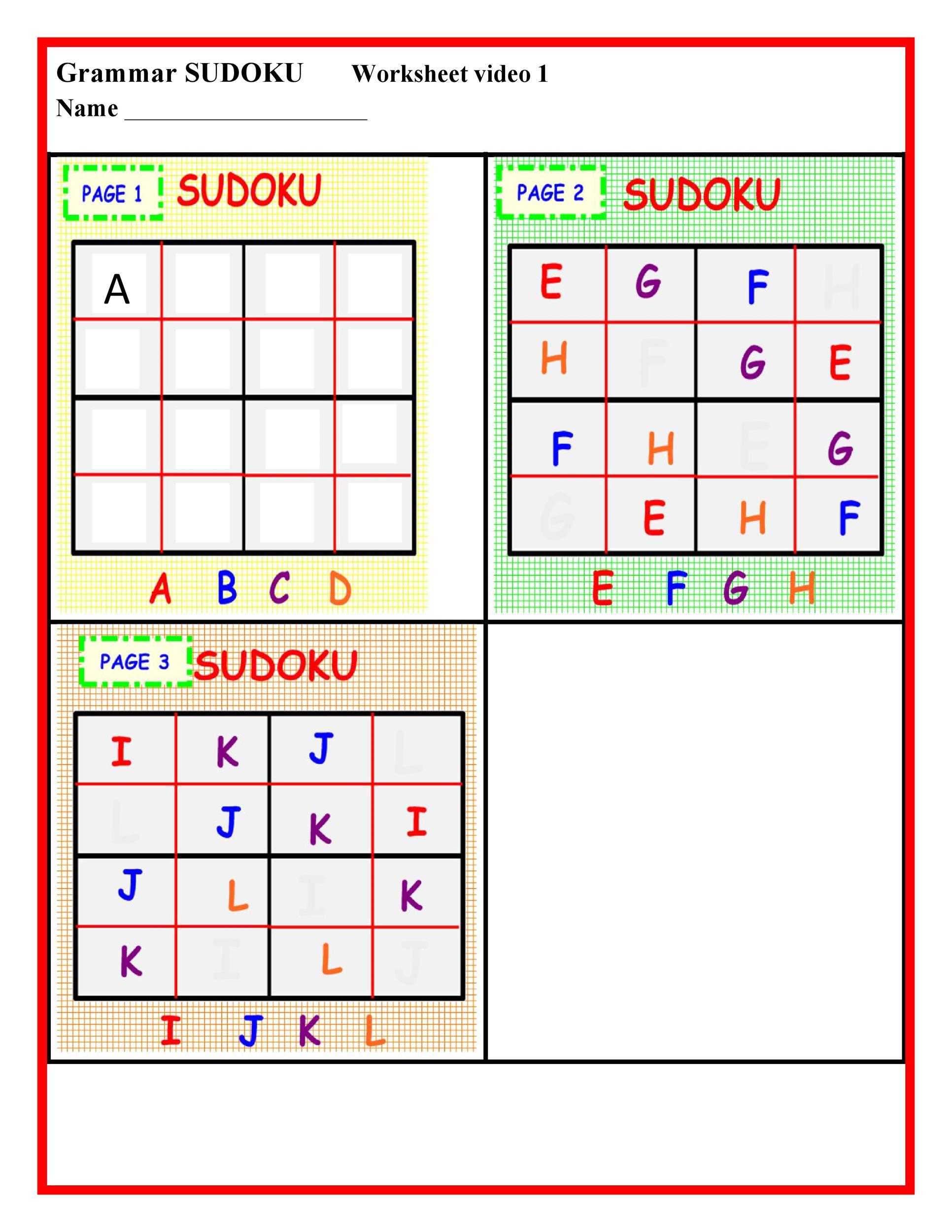 Free blank sudoku grid 31