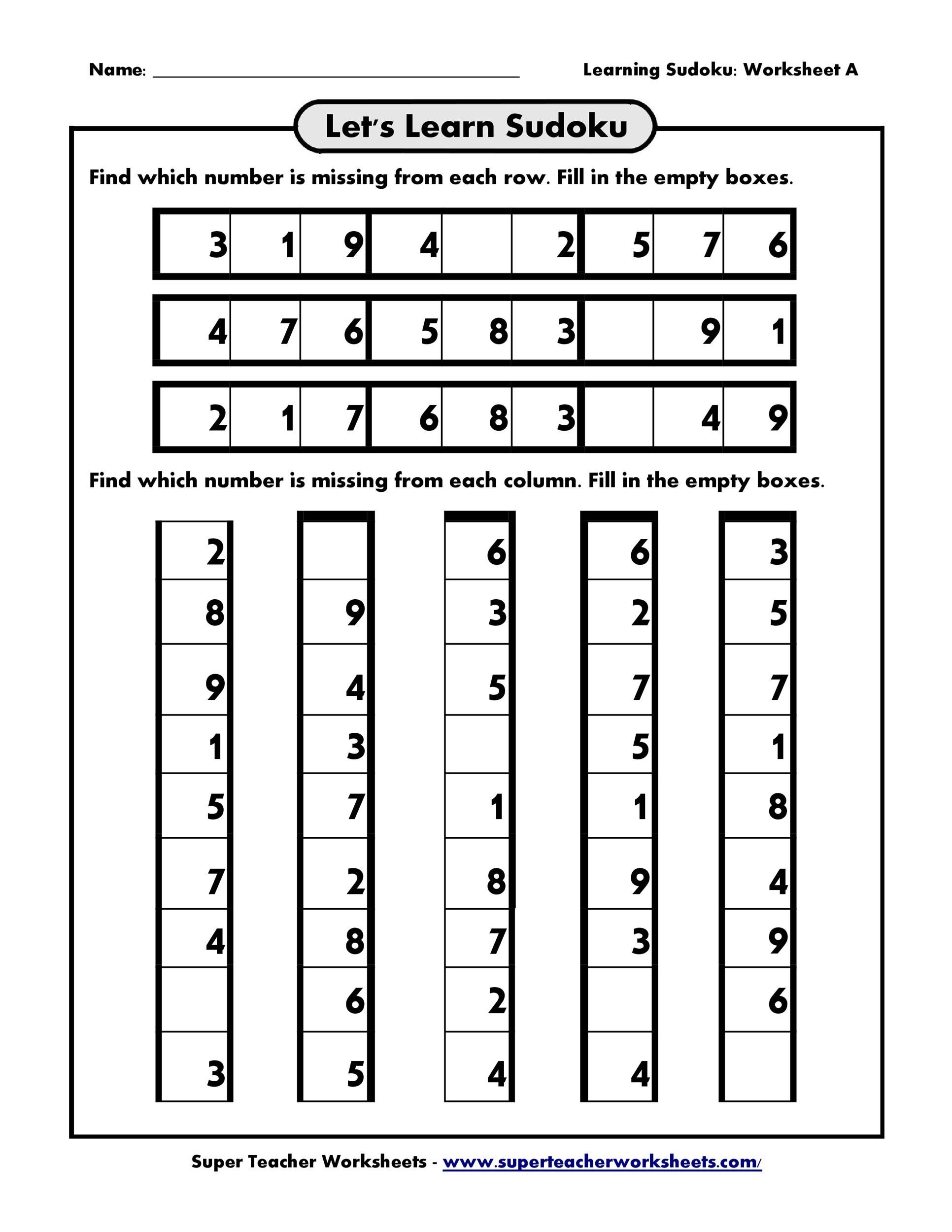 Free blank sudoku grid 32