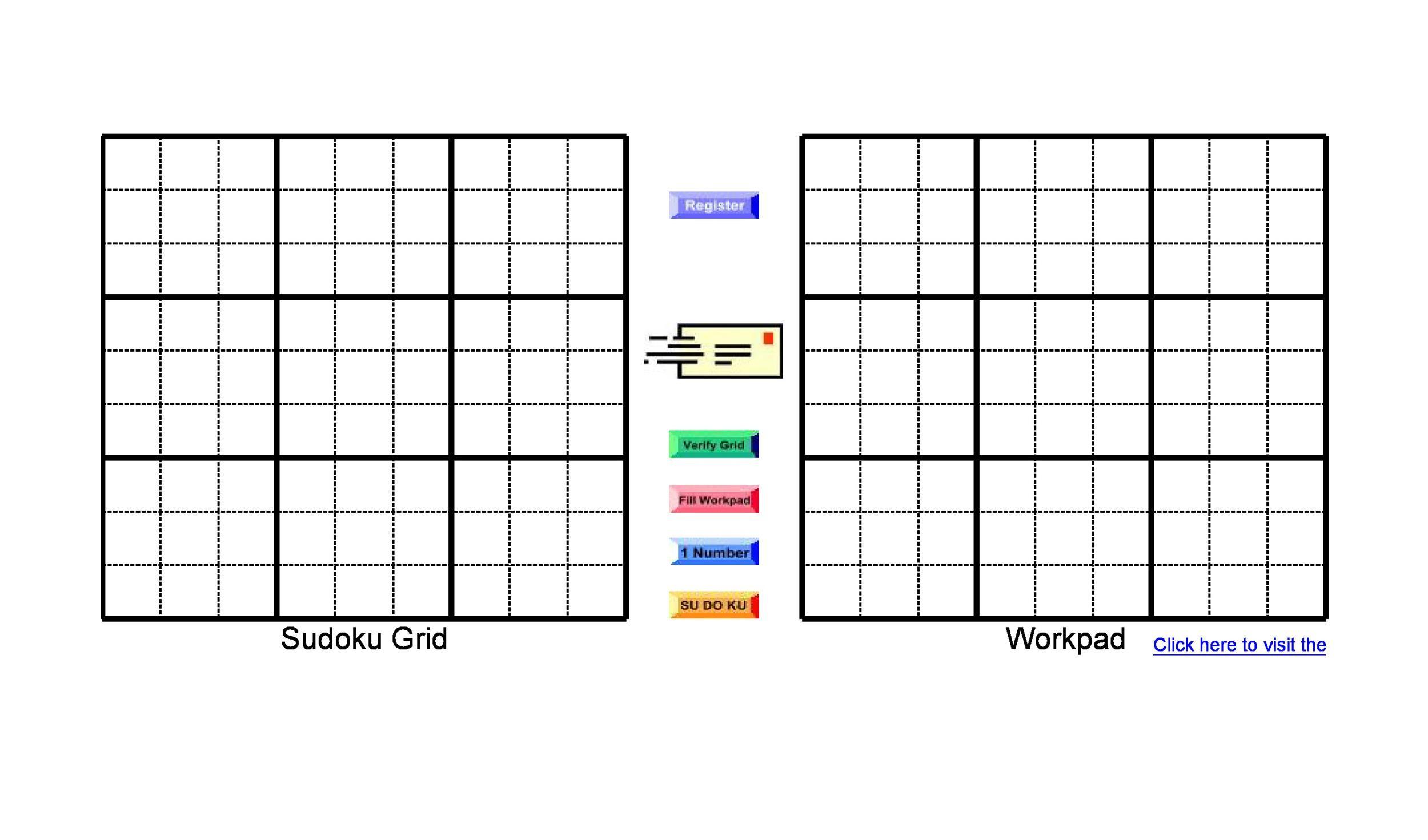 Free blank sudoku grid 34