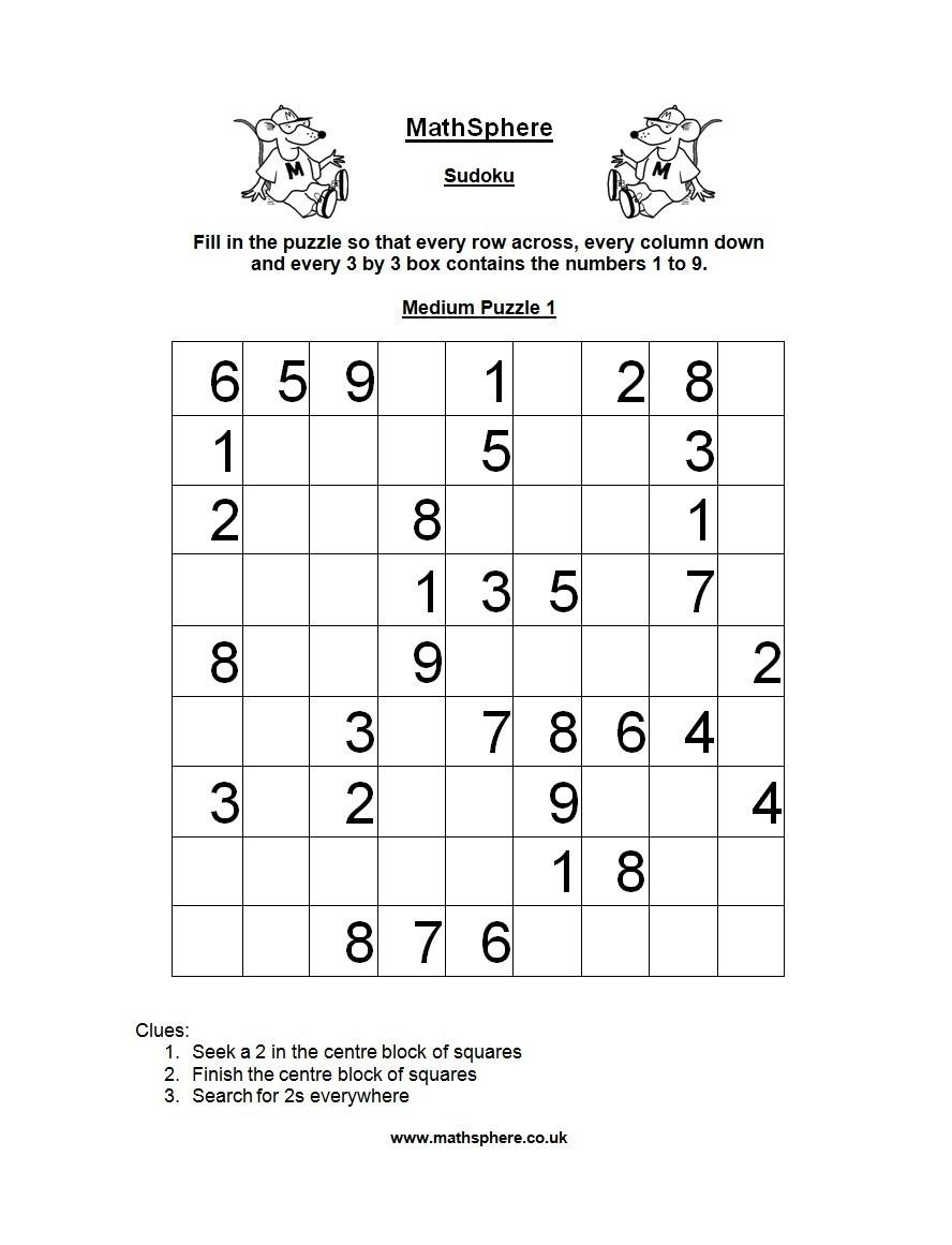 Free blank sudoku grid 35