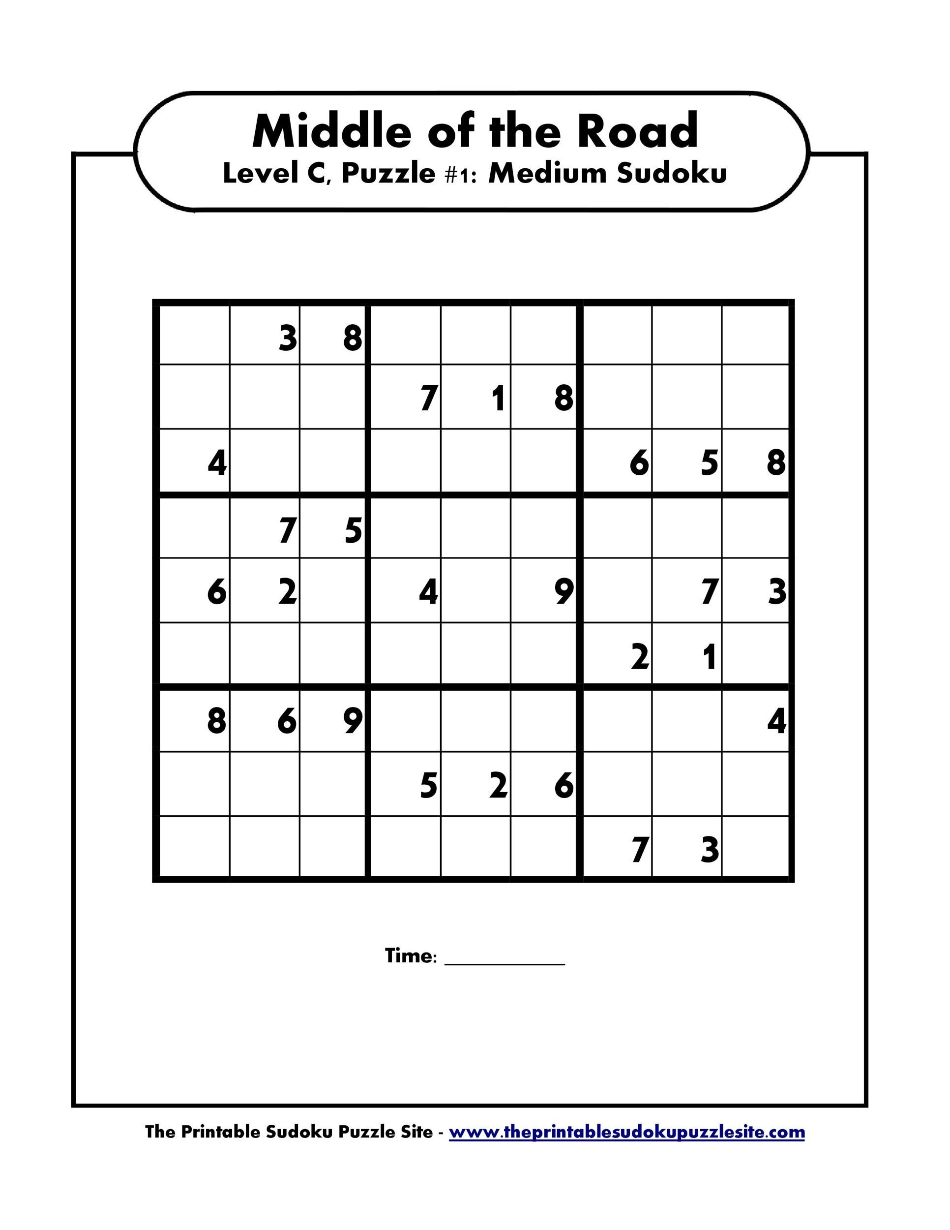Free blank sudoku grid 37