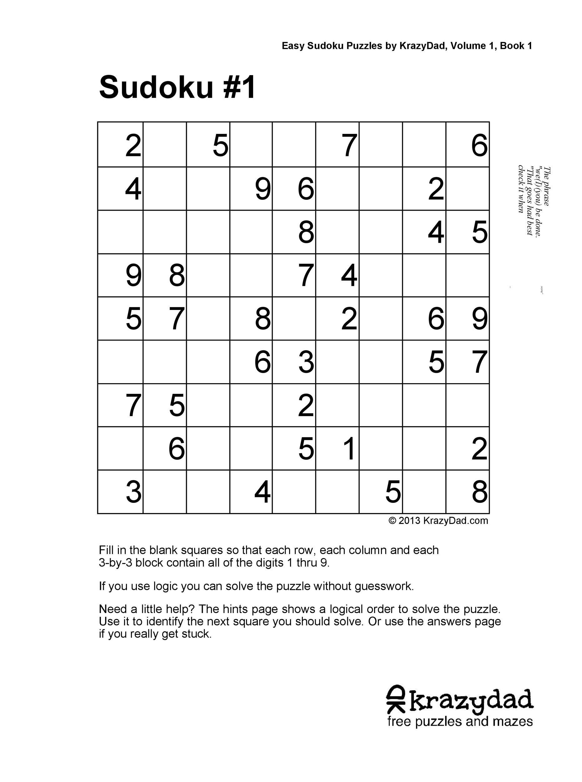 Free blank sudoku grid 43