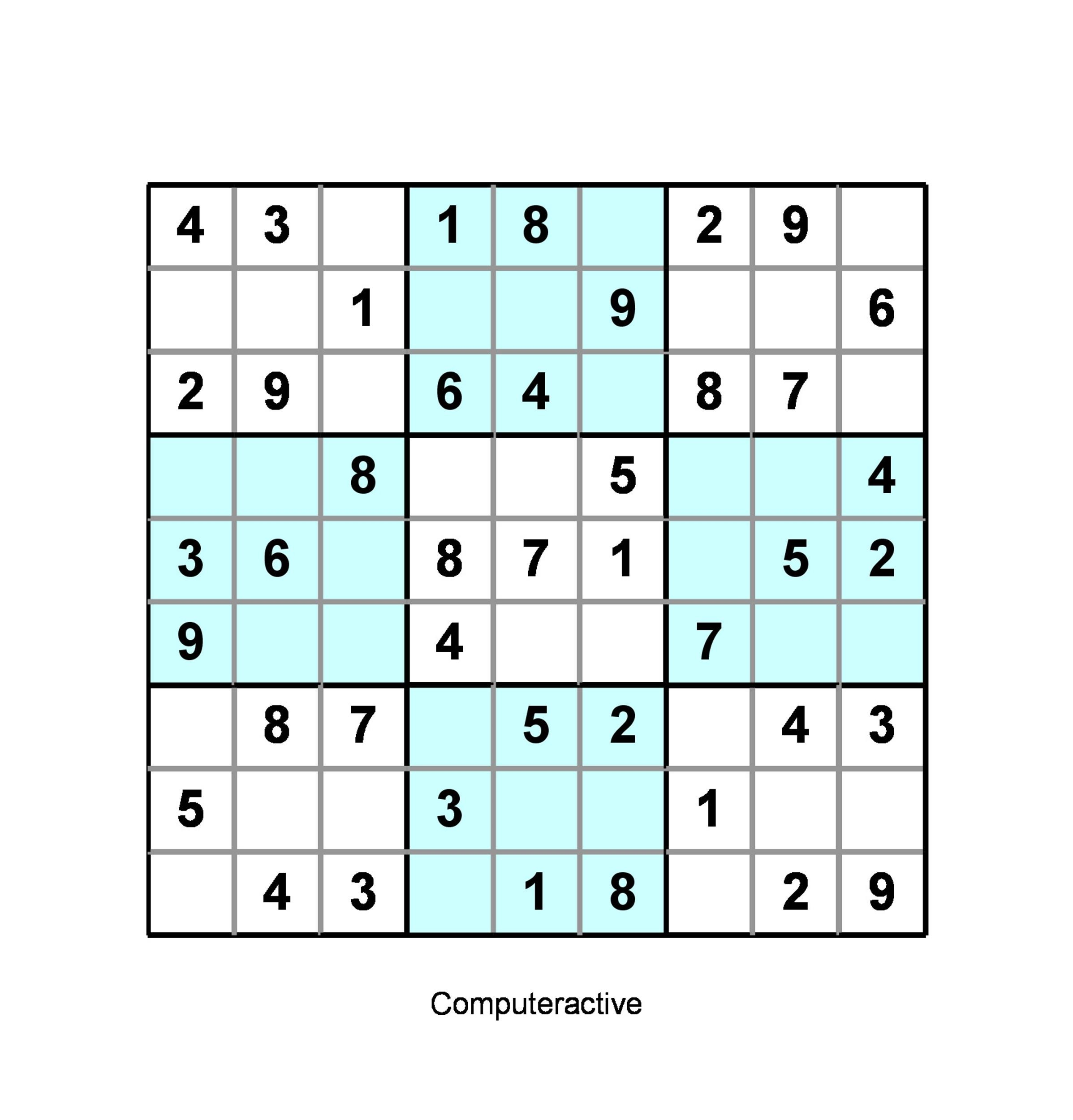 Free blank sudoku grid 45