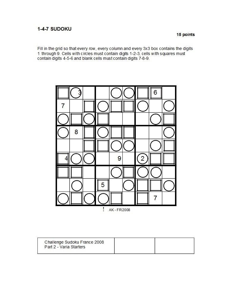 Free blank sudoku grid 48