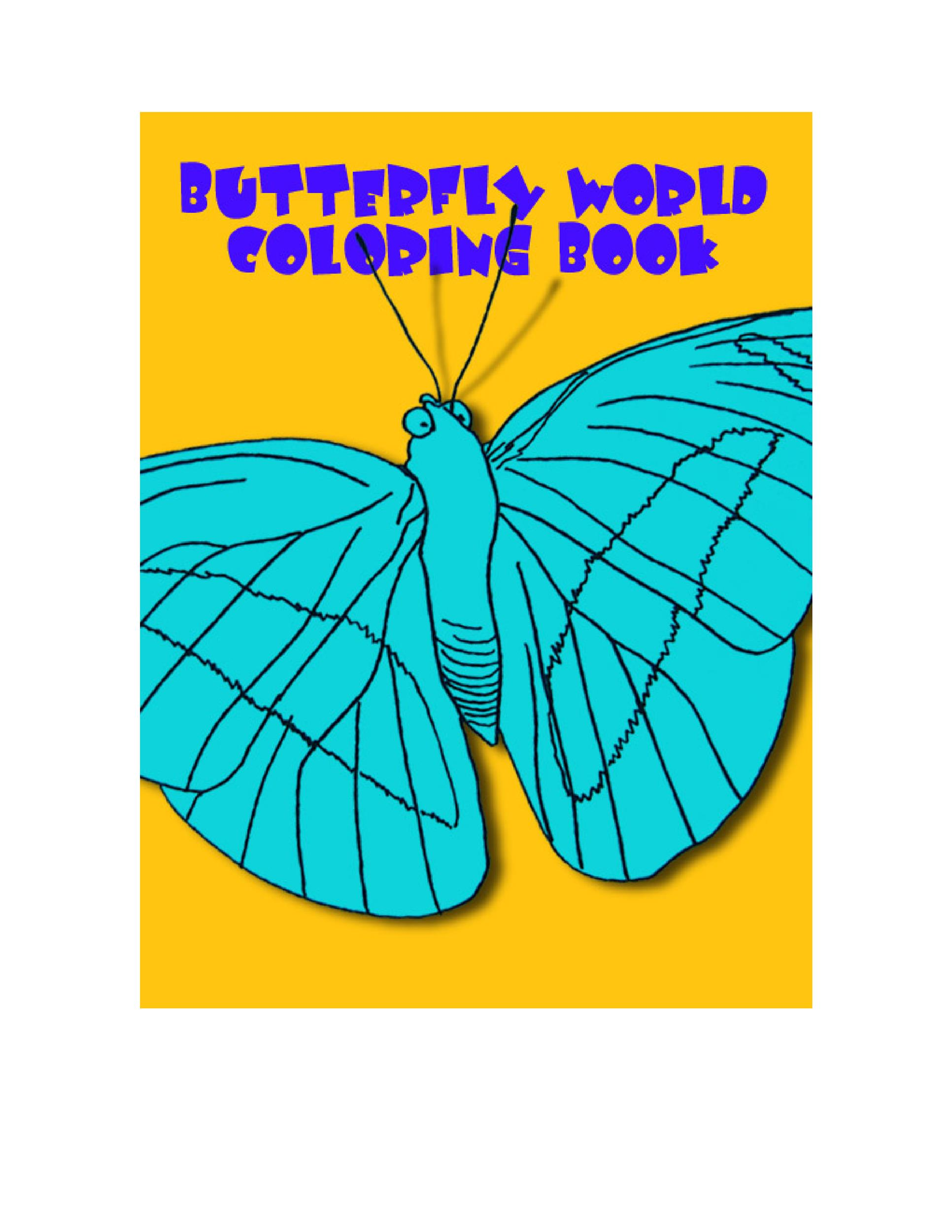 Free butterfly template 15