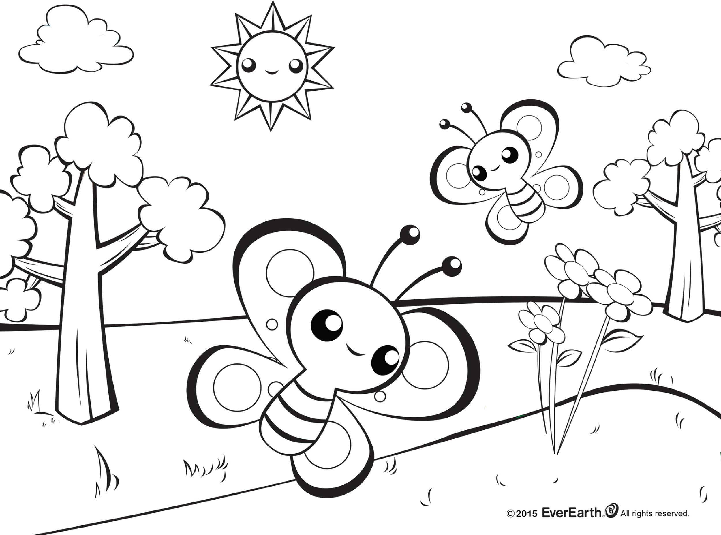 Free butterfly template 28