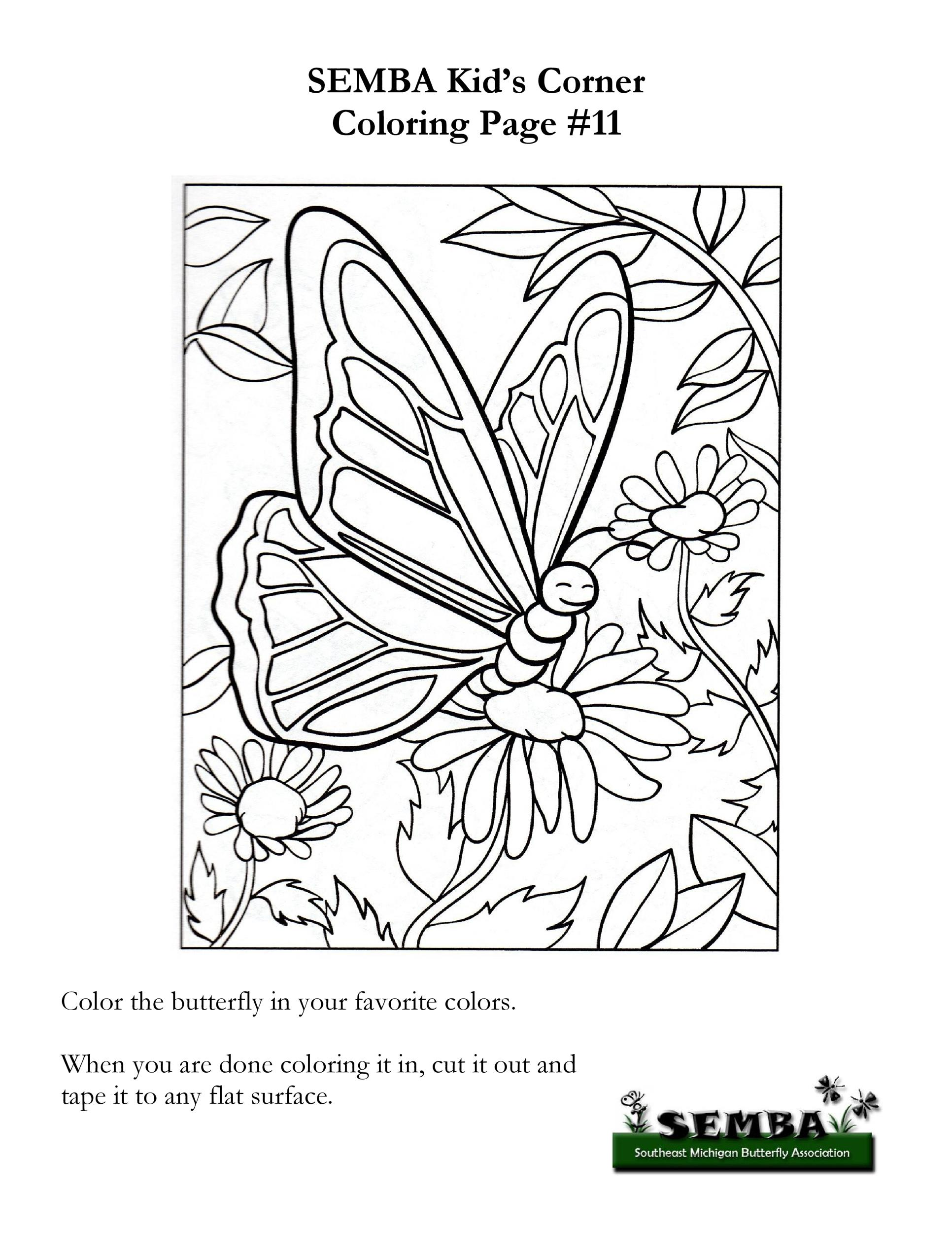 Free butterfly template 36