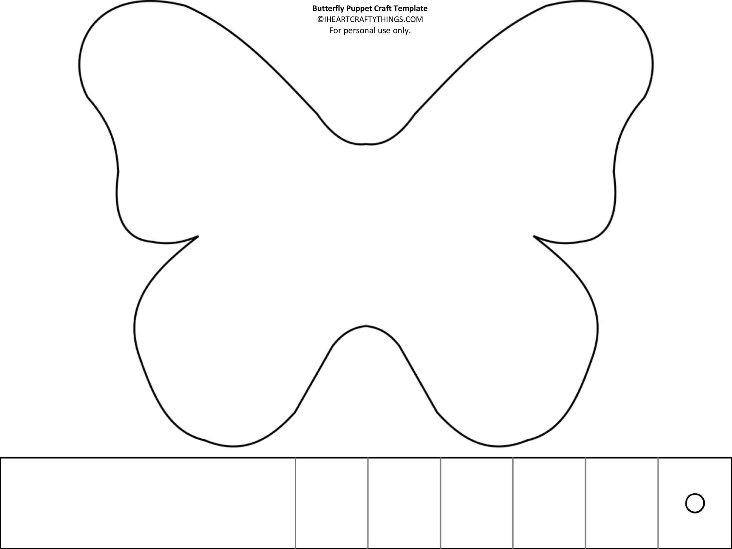 Free butterfly template 48