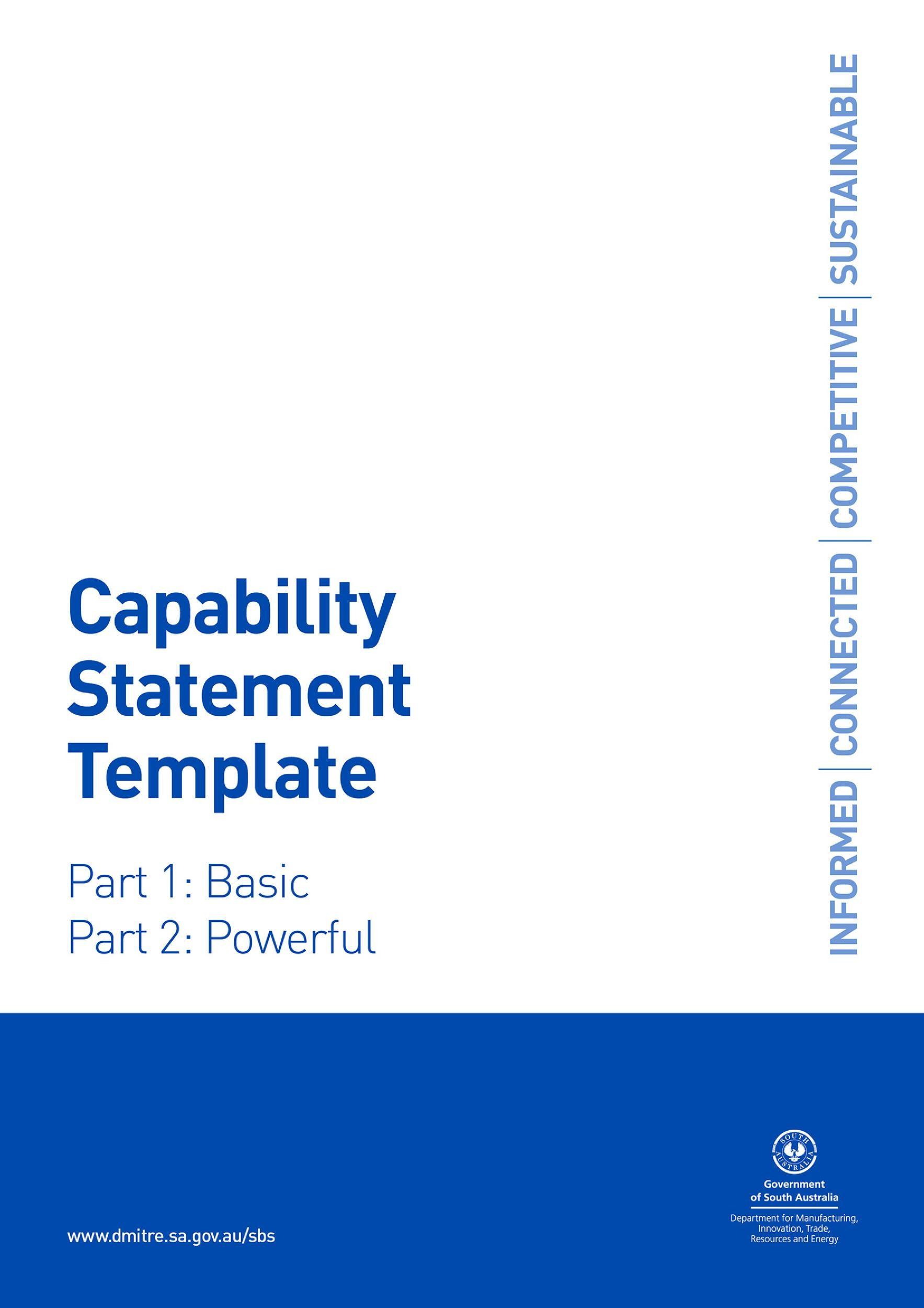 Free capability statement 05