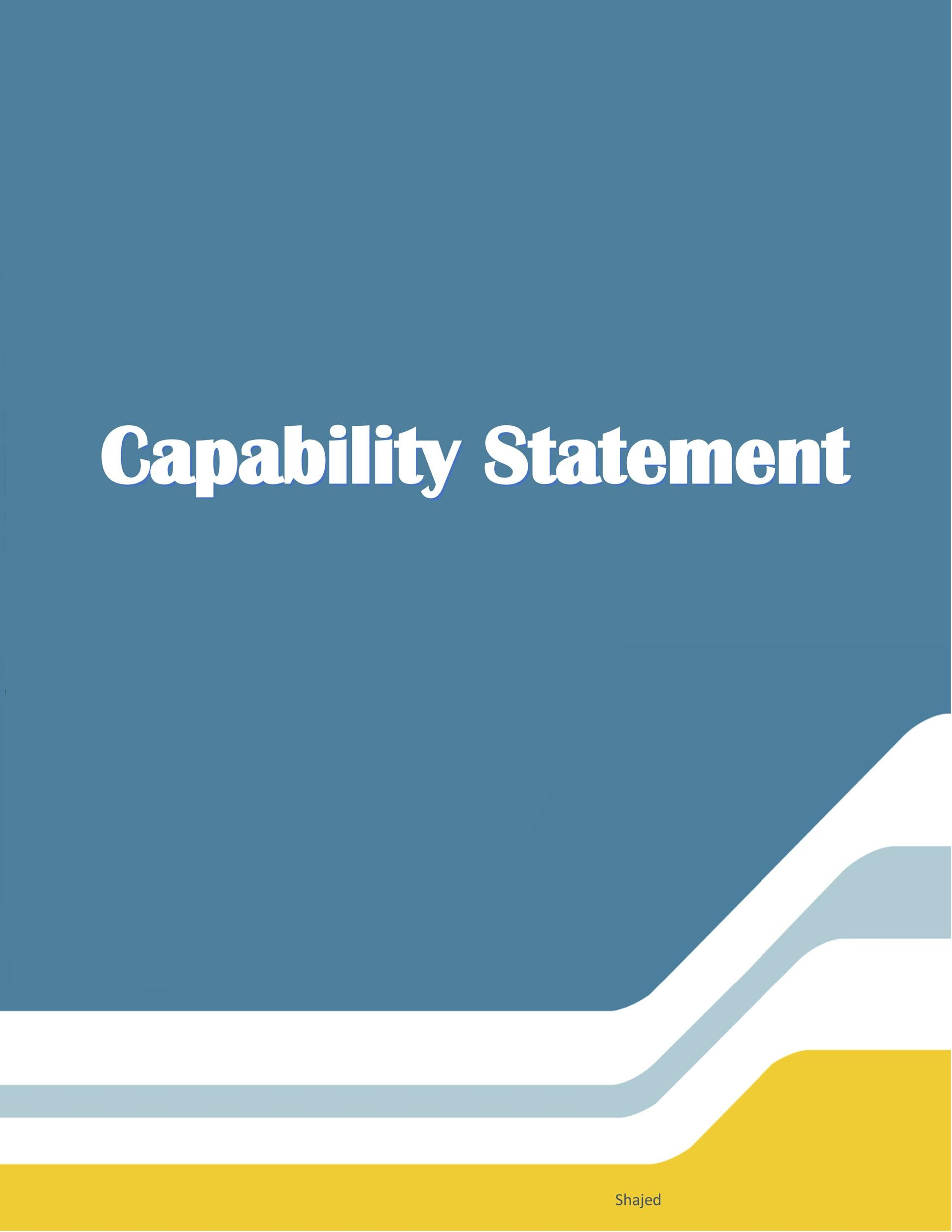 Free capability statement 07