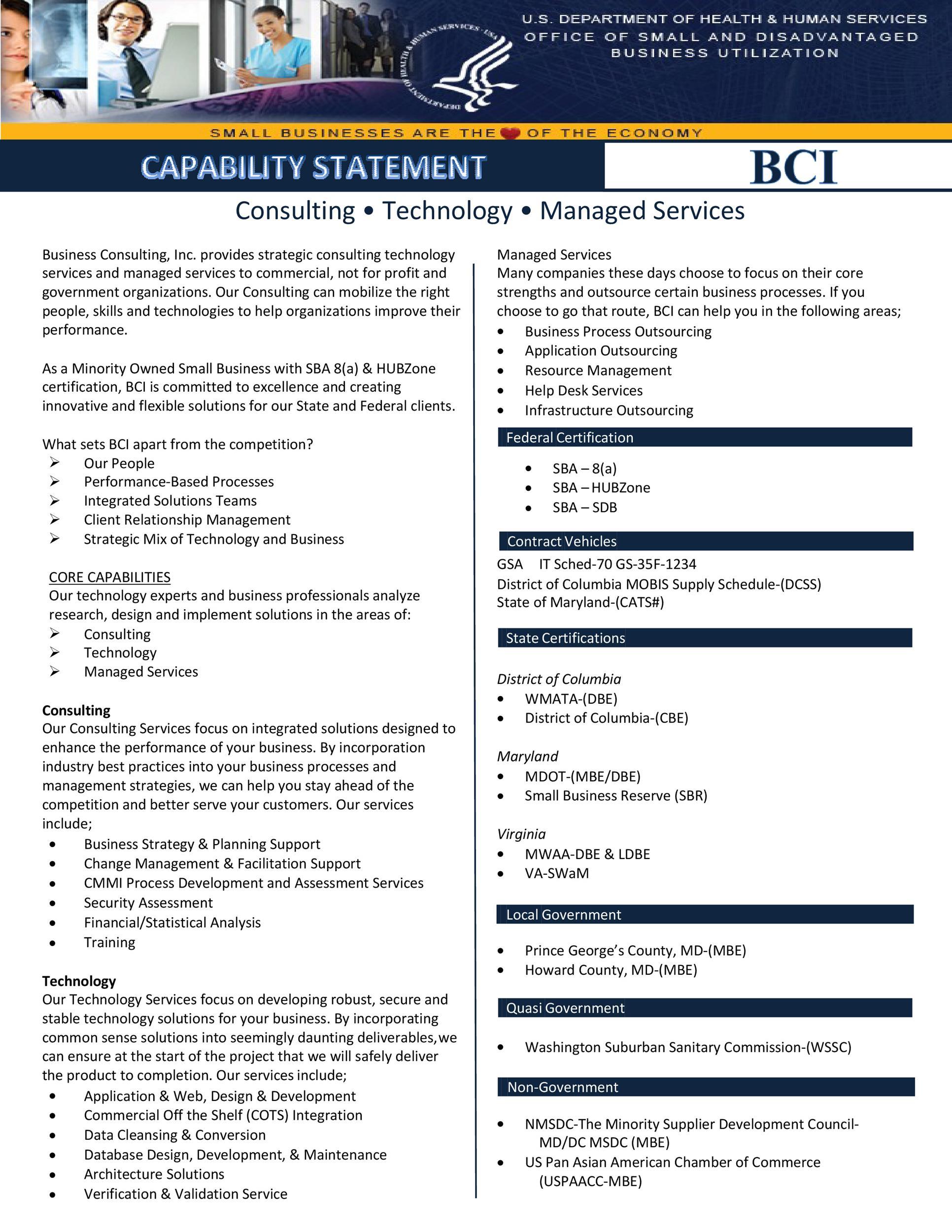 Free capability statement 21
