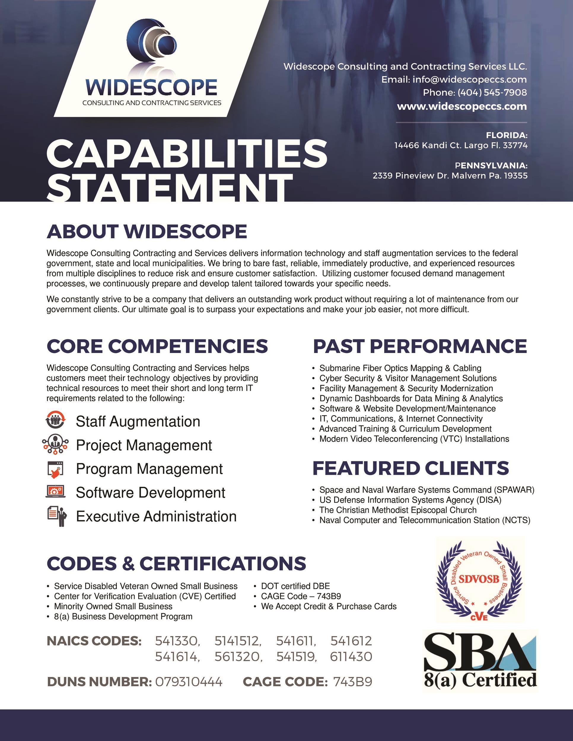Free capability statement 26