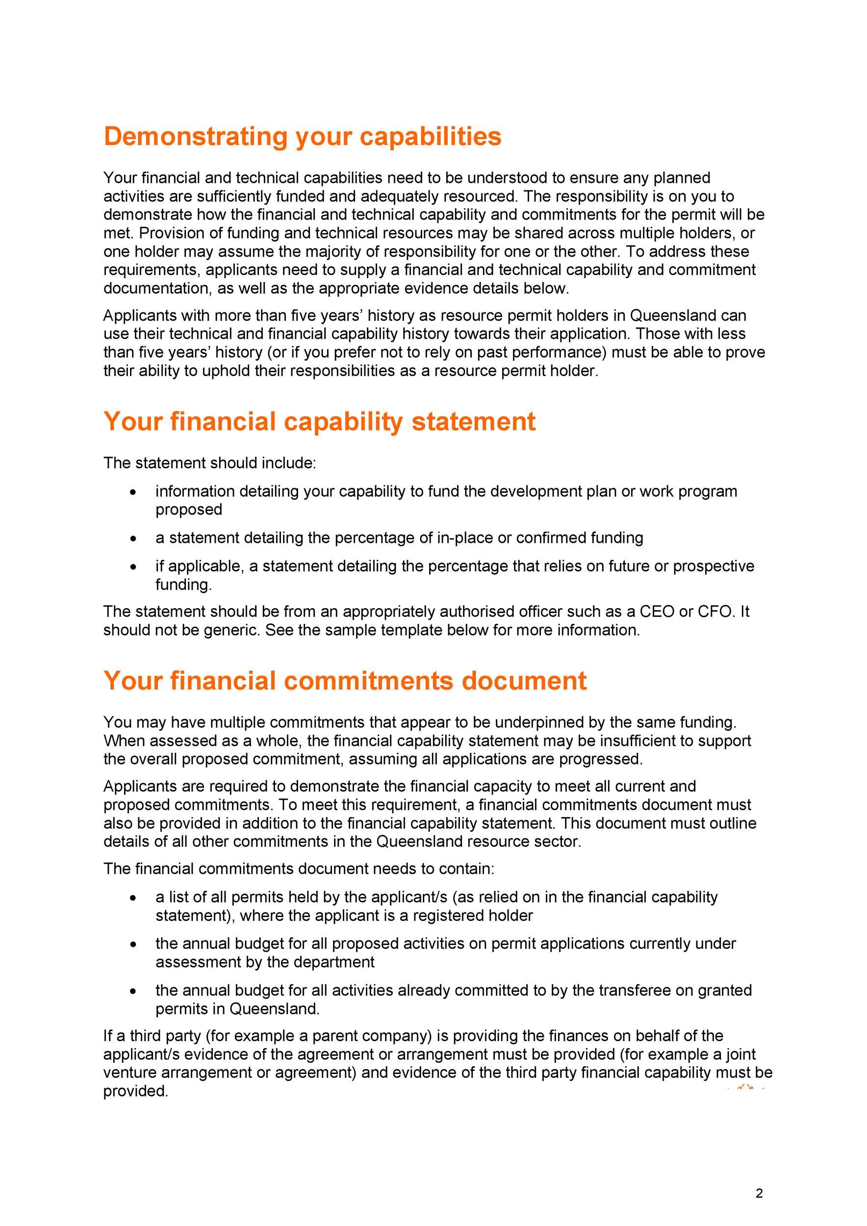 Free capability statement 28
