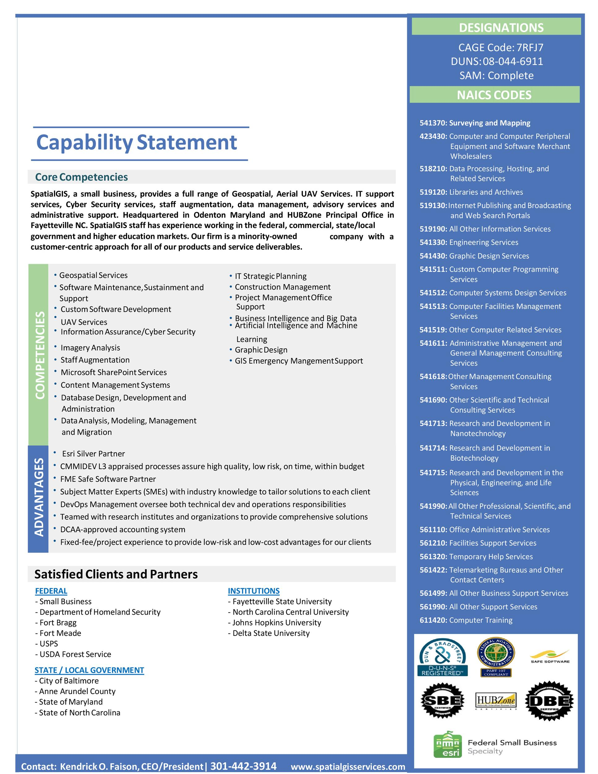 Free capability statement 33