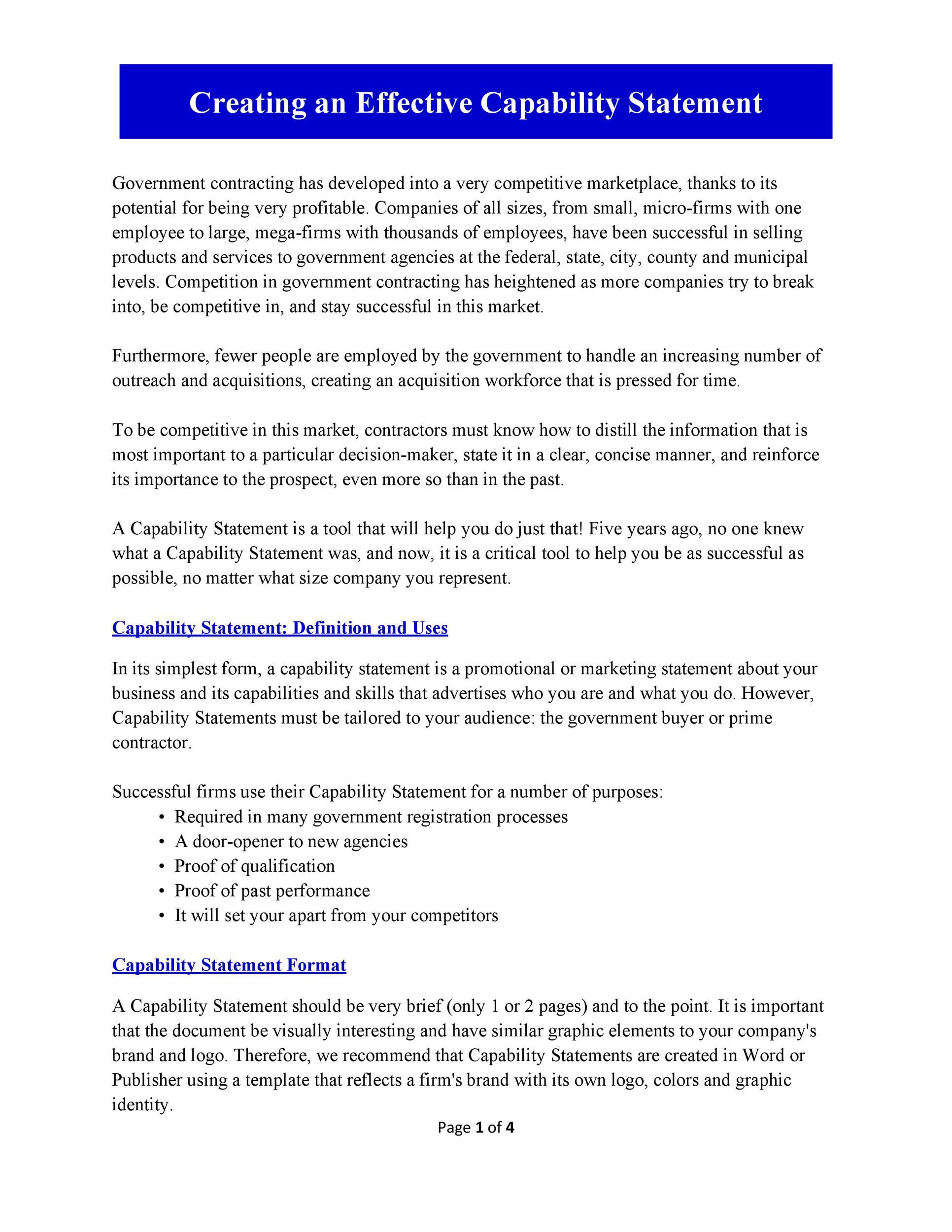 Free capability statement 34