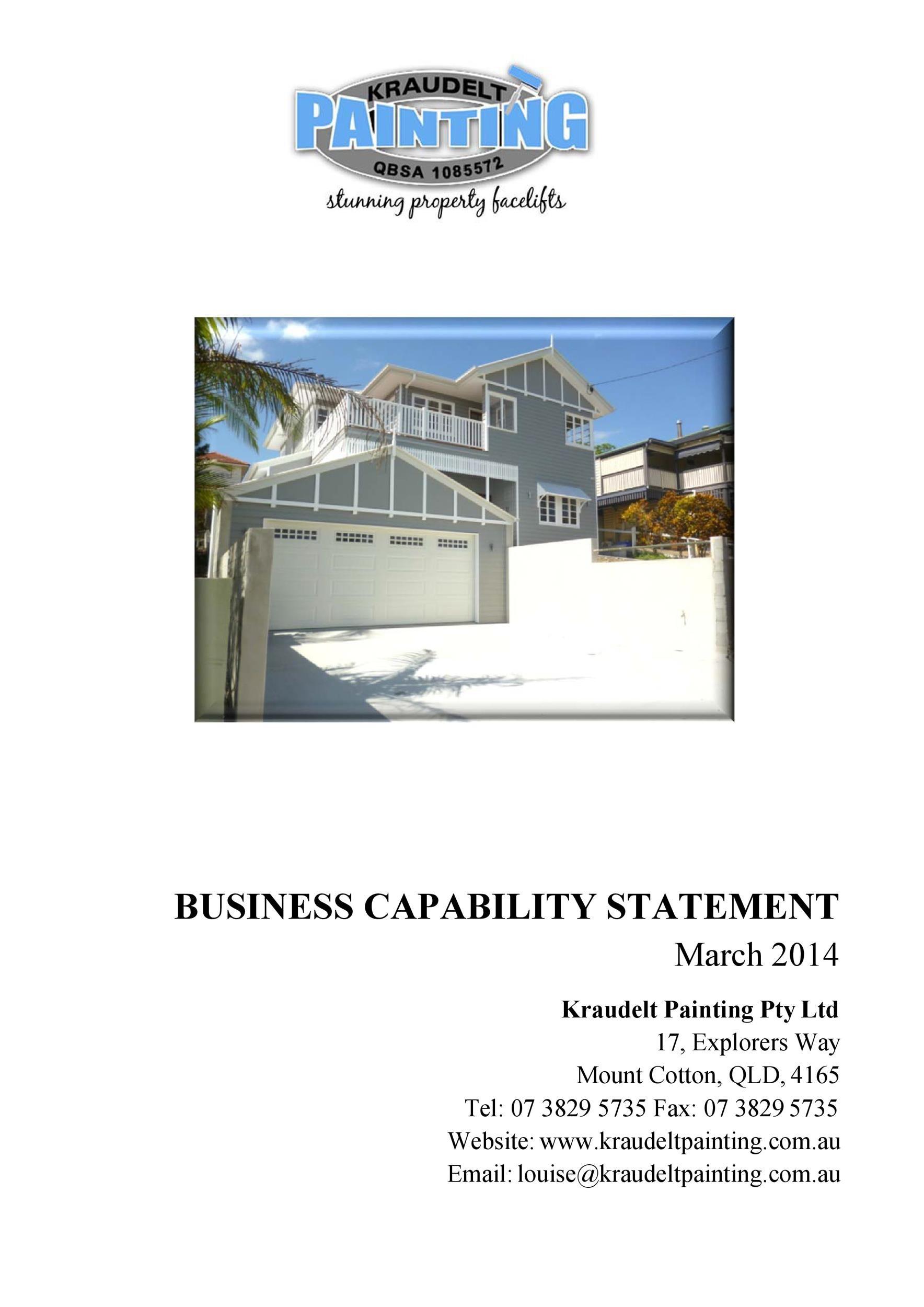 Free capability statement 35