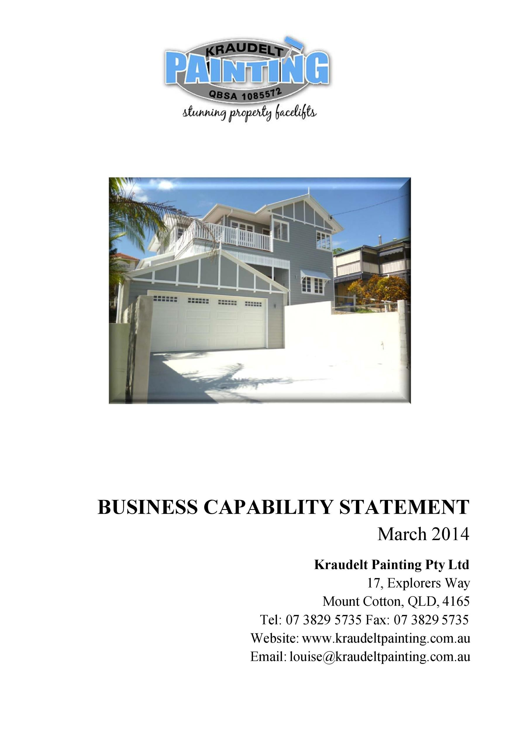 Free capability statement 35
