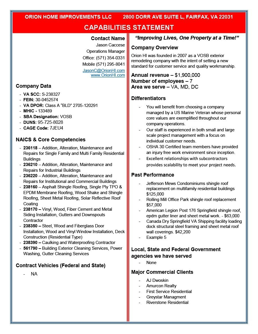 Free capability statement 36