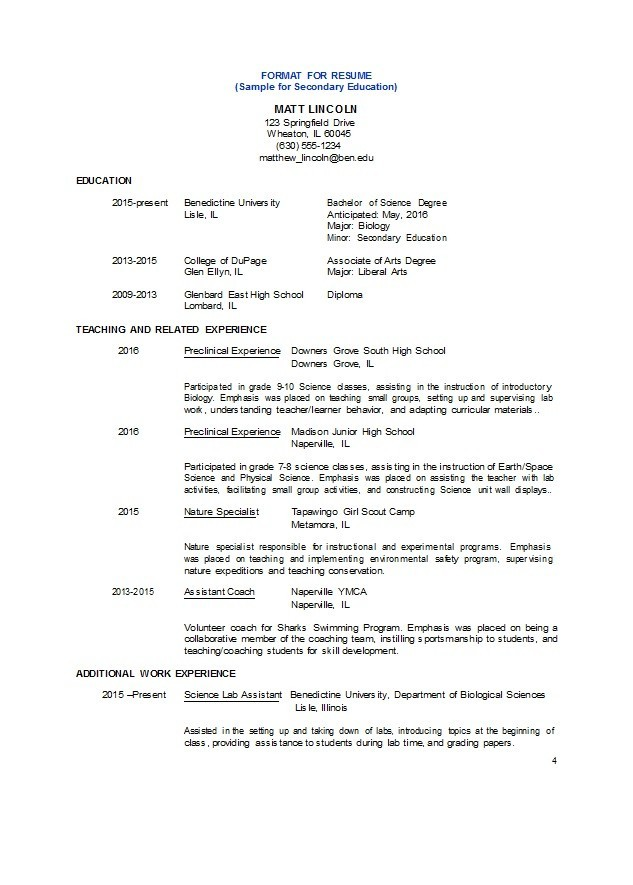 Free college resume template 13