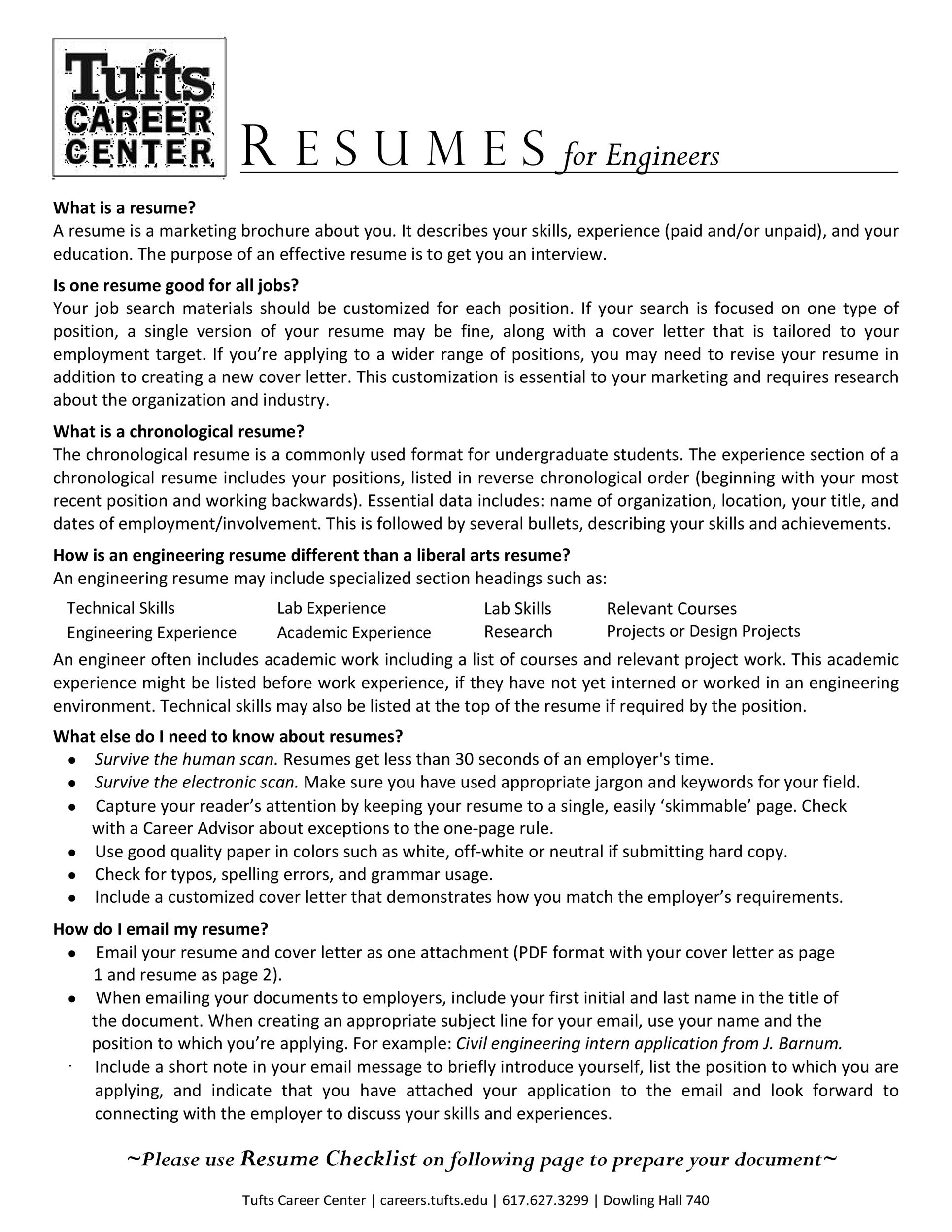 Free college resume template 24