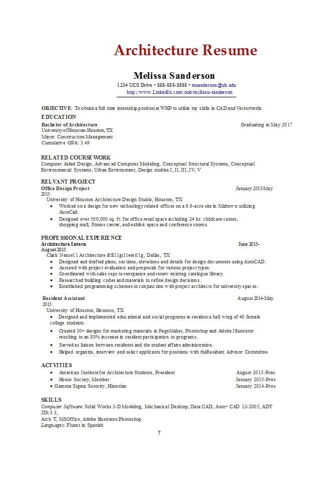 Free college resume template 26