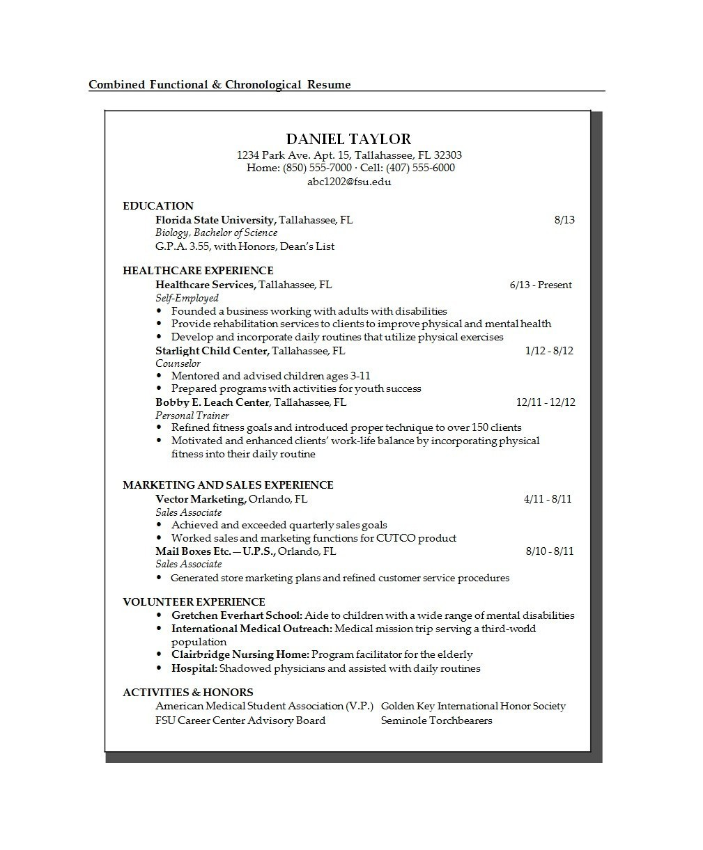 Free college resume template 34