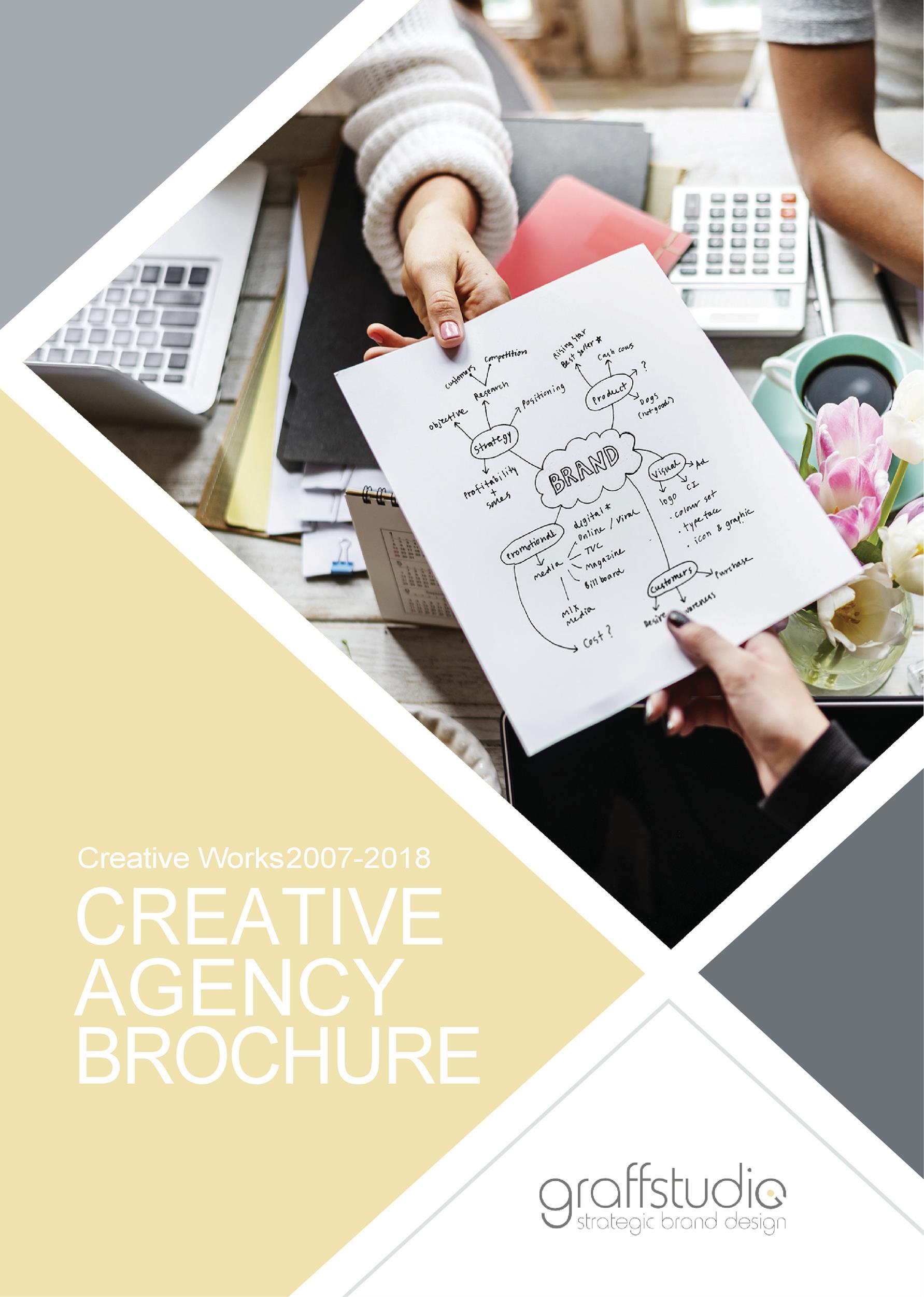 Free company brochure template 22