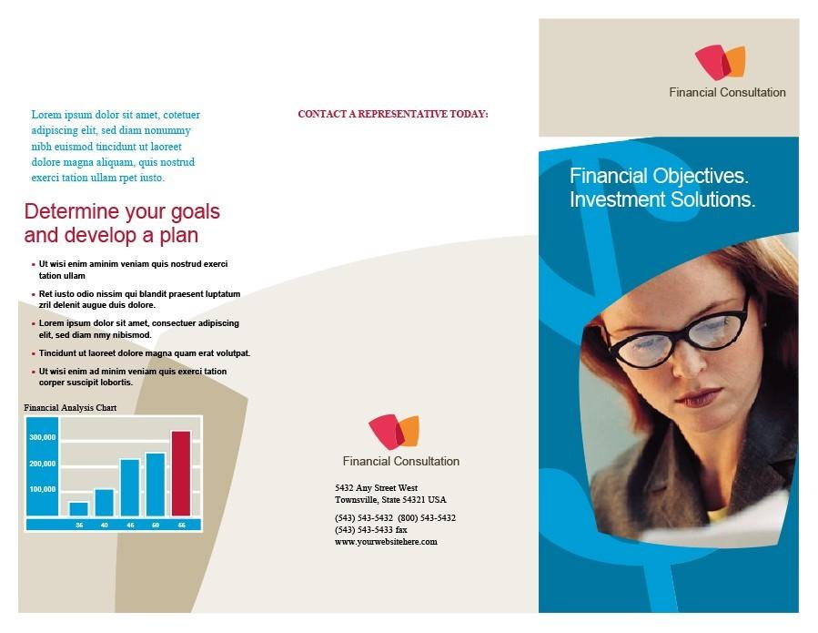 Free company brochure template 24