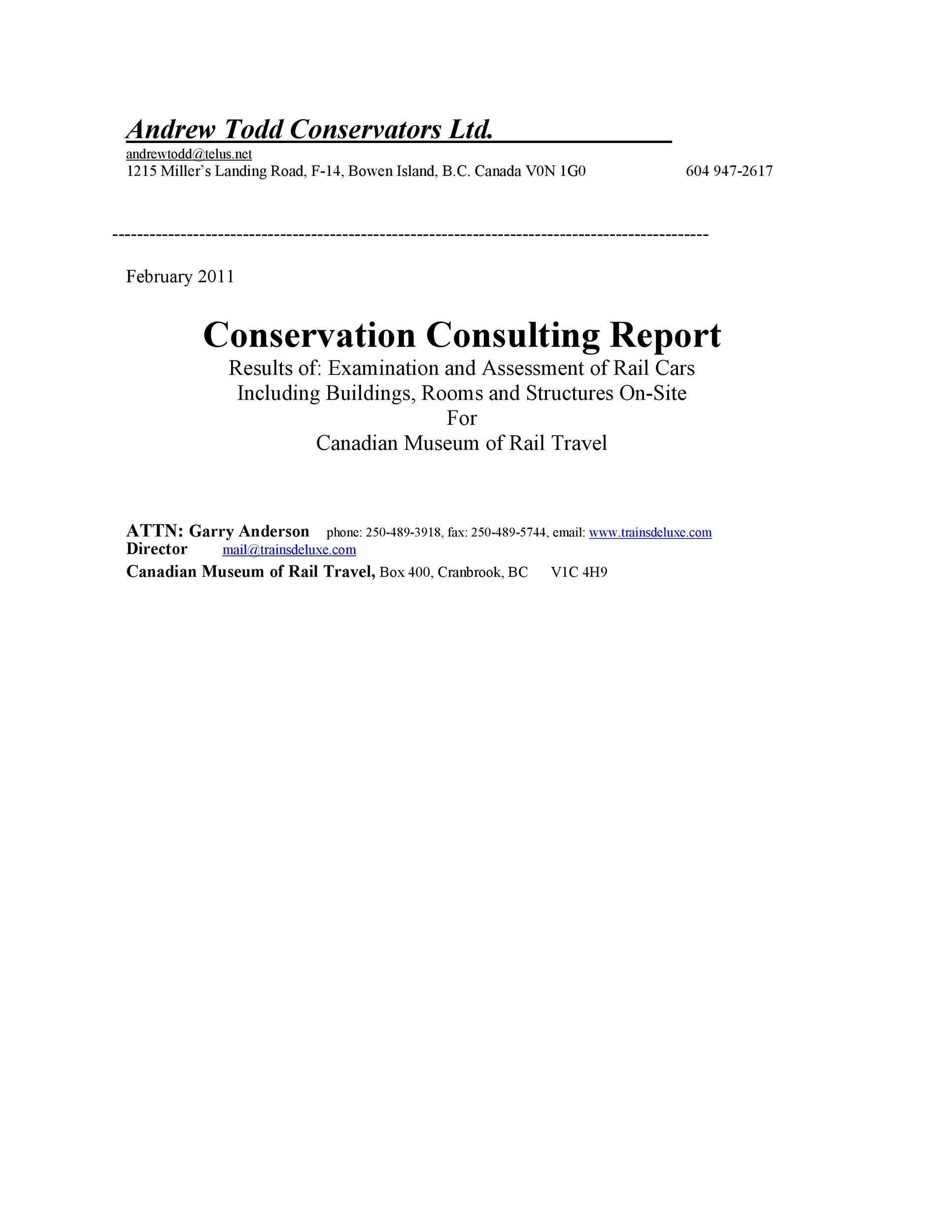 Free consulting report template 10