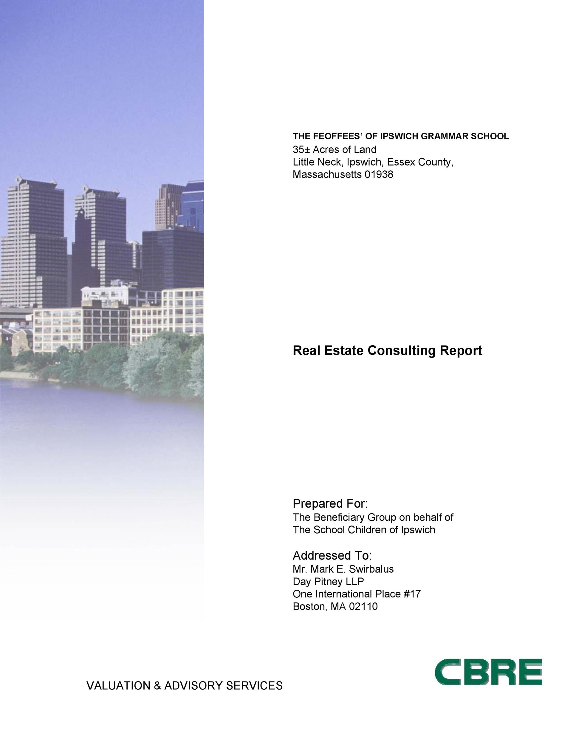 Free consulting report template 45
