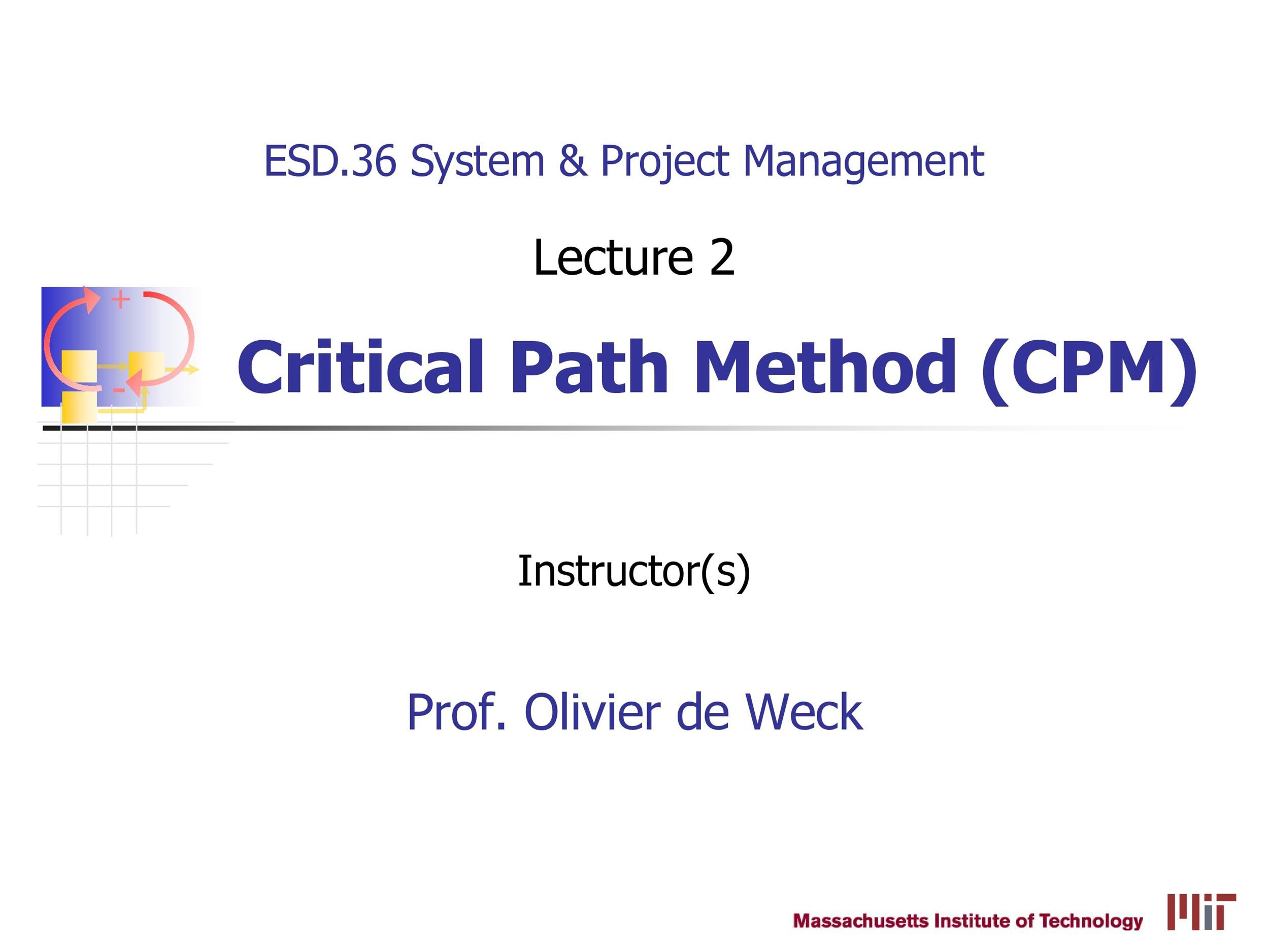 Free critical path template 18