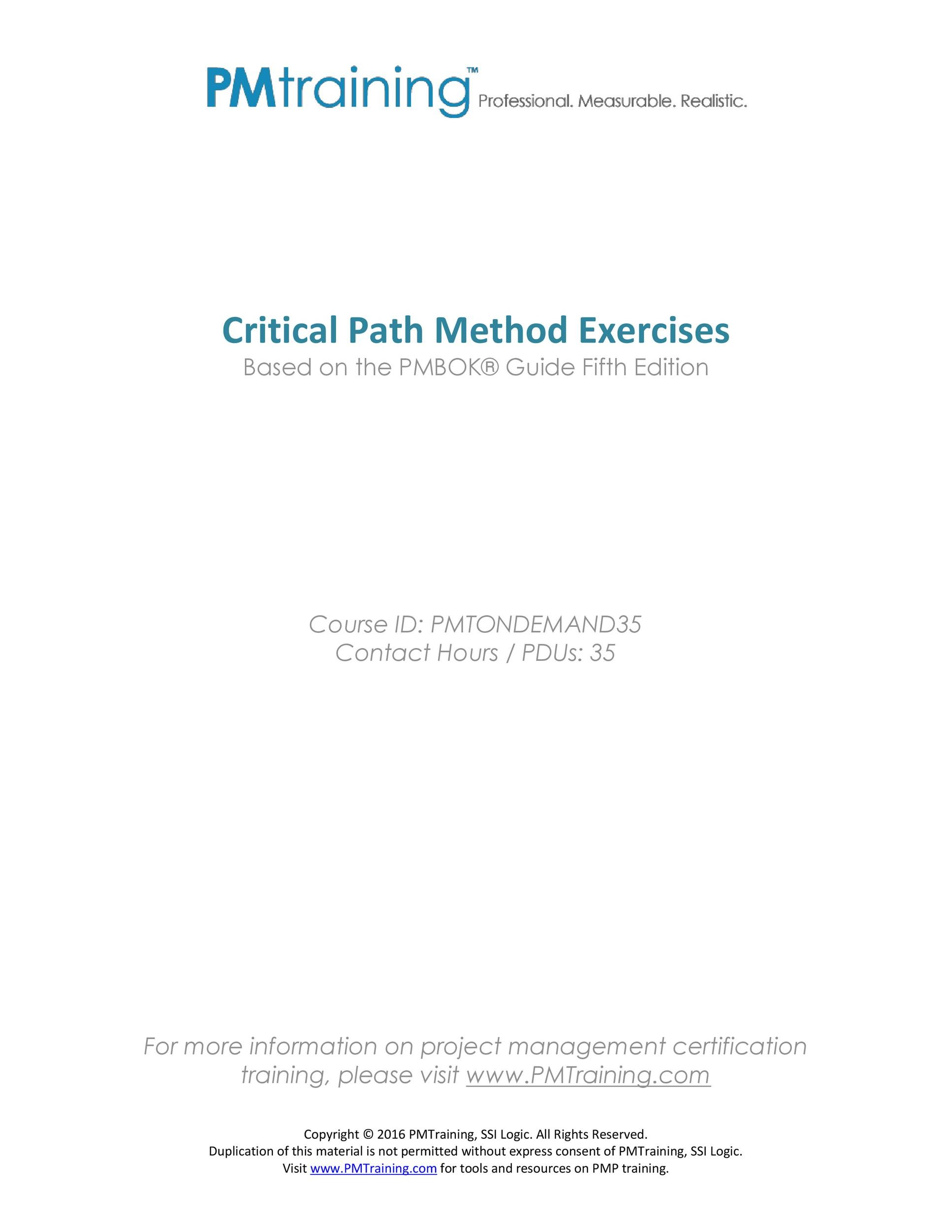 Free critical path template 21