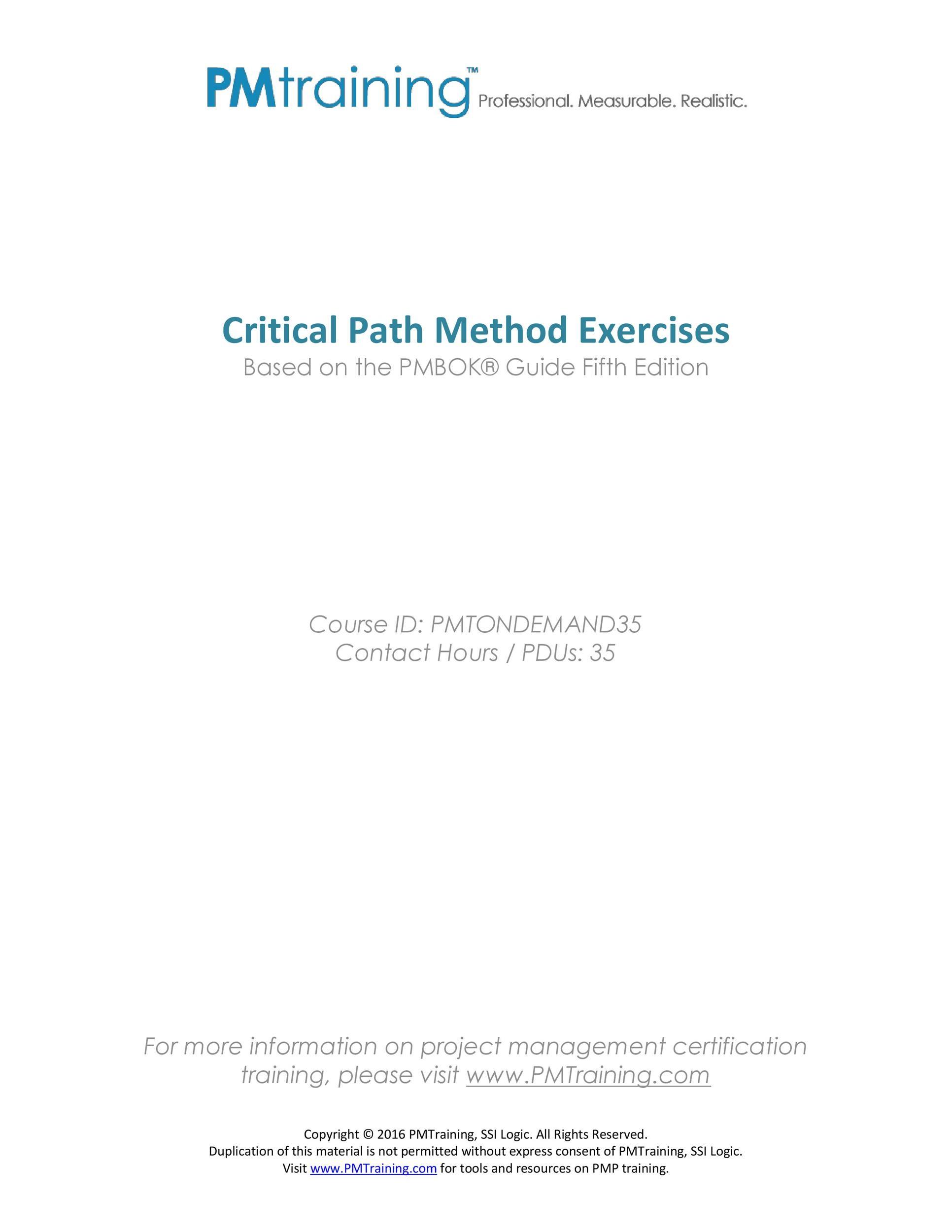 Free critical path template 21