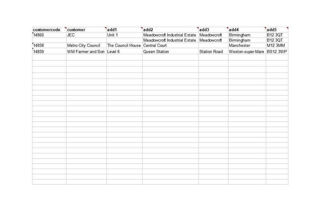 Free customer list template 21