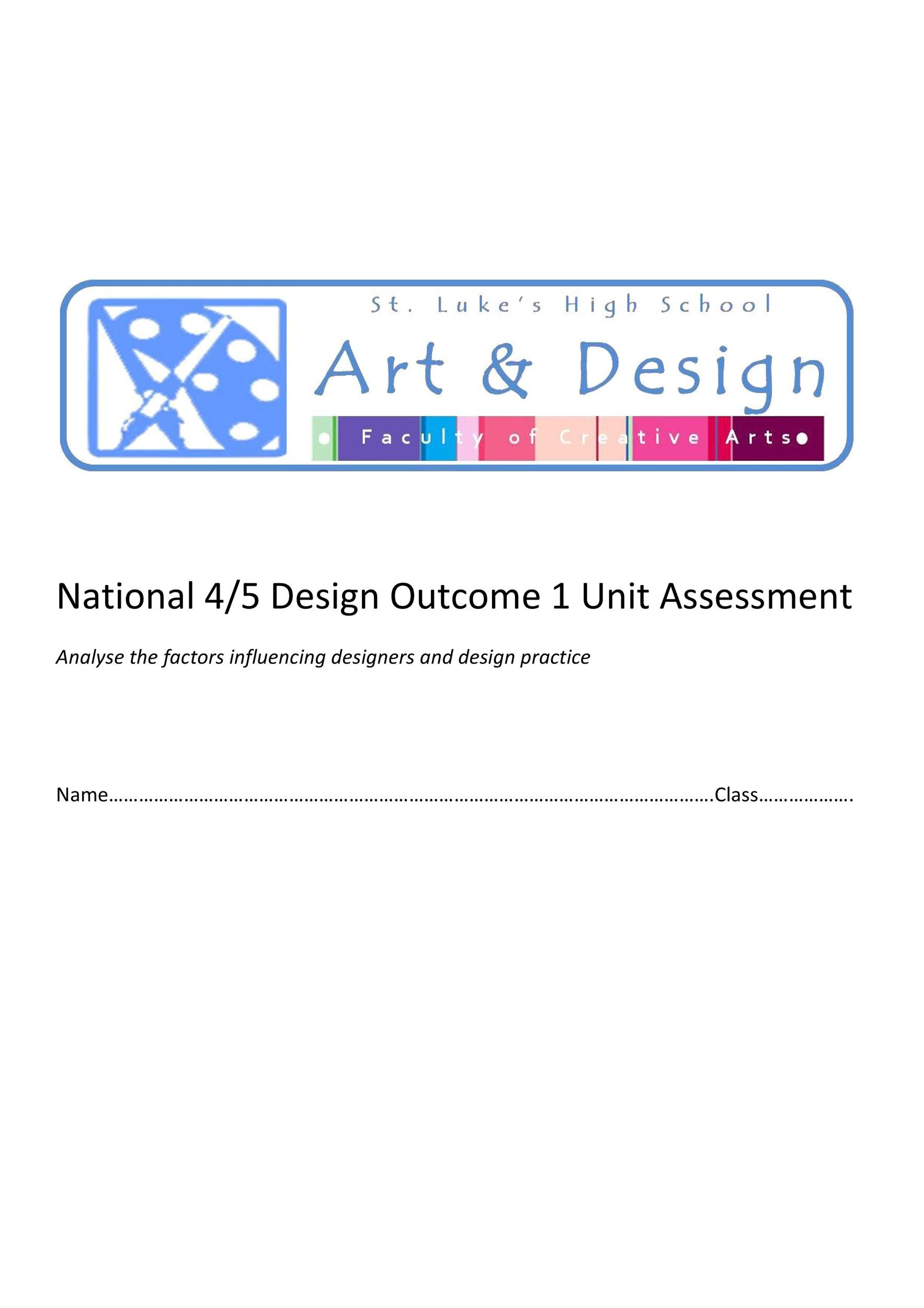 Free design brief template 19