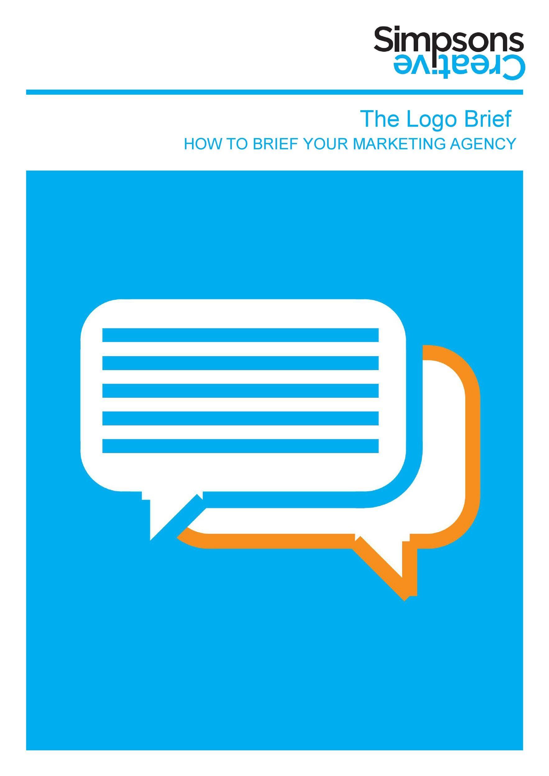 Free design brief template 30
