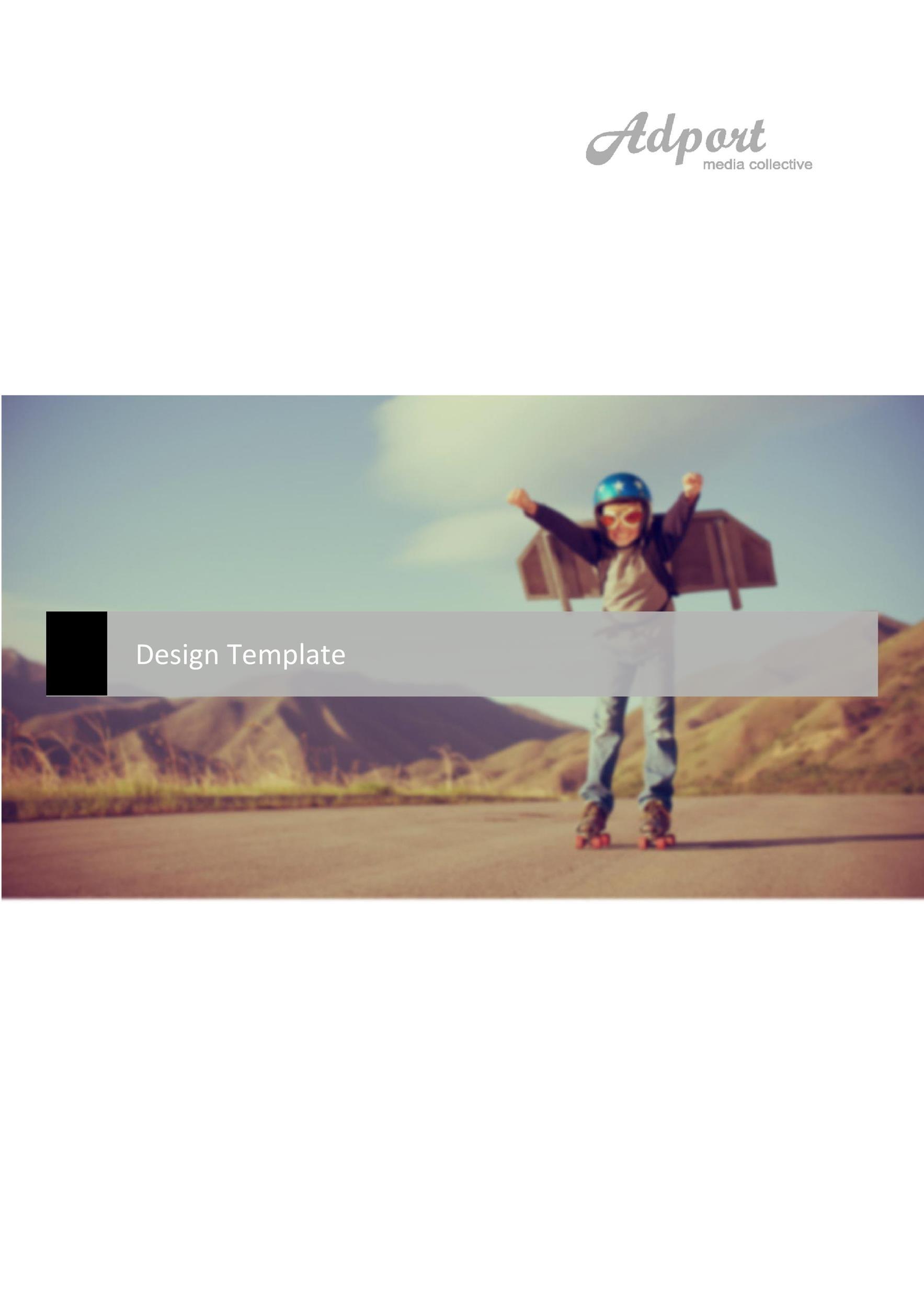 Free design brief template 38