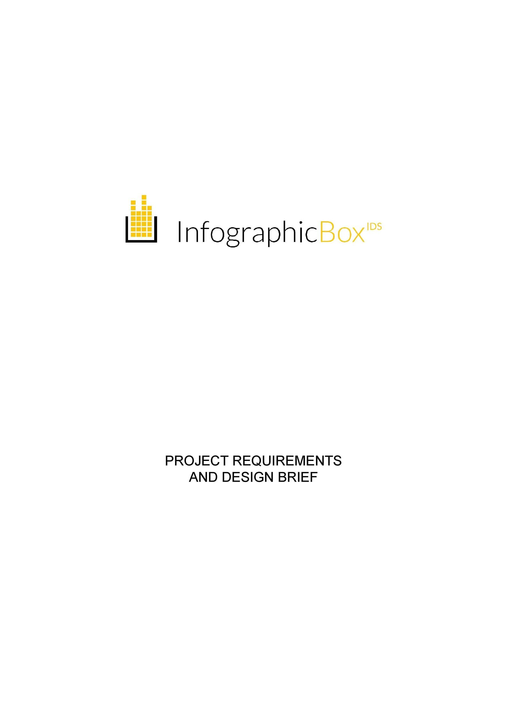 Free design brief template 40