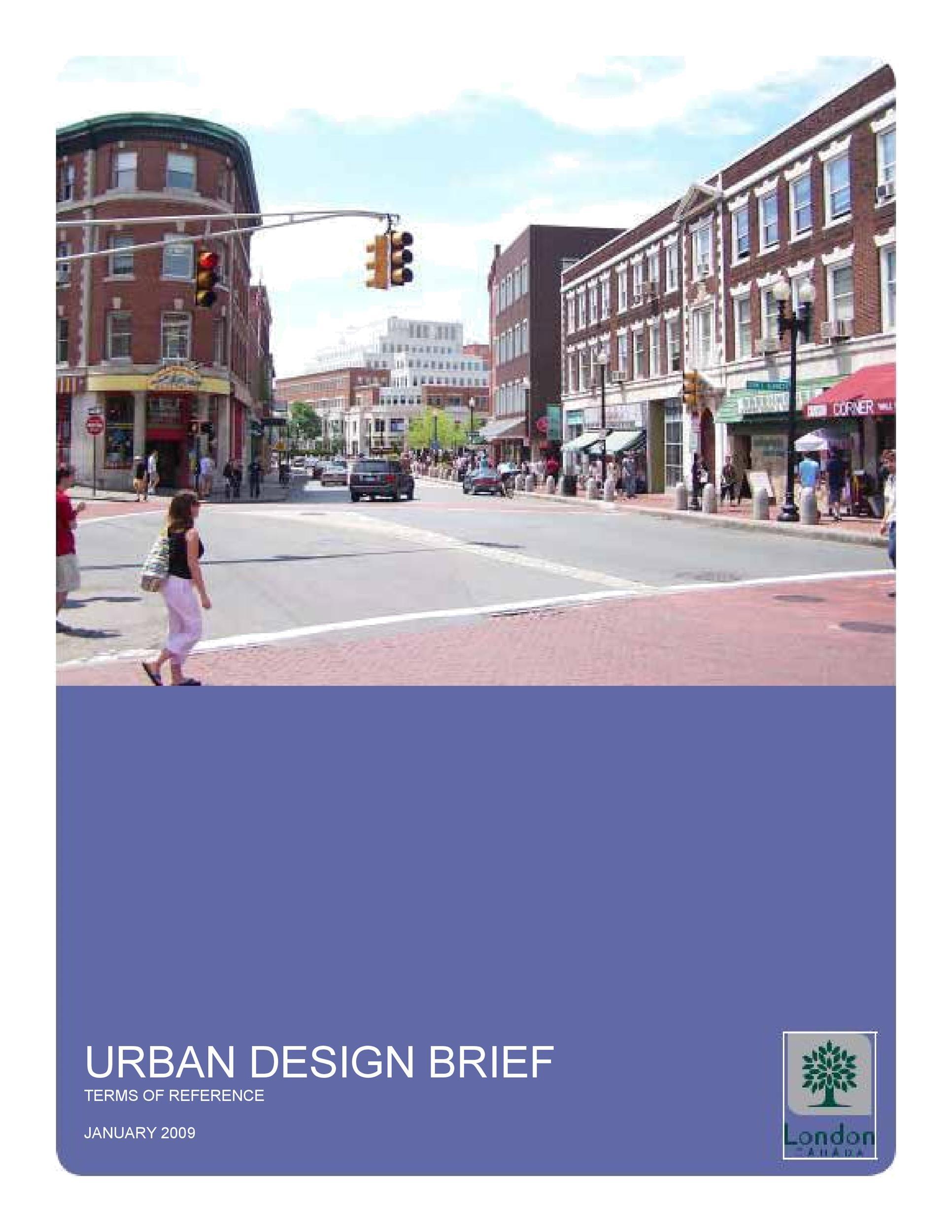 Free design brief template 45