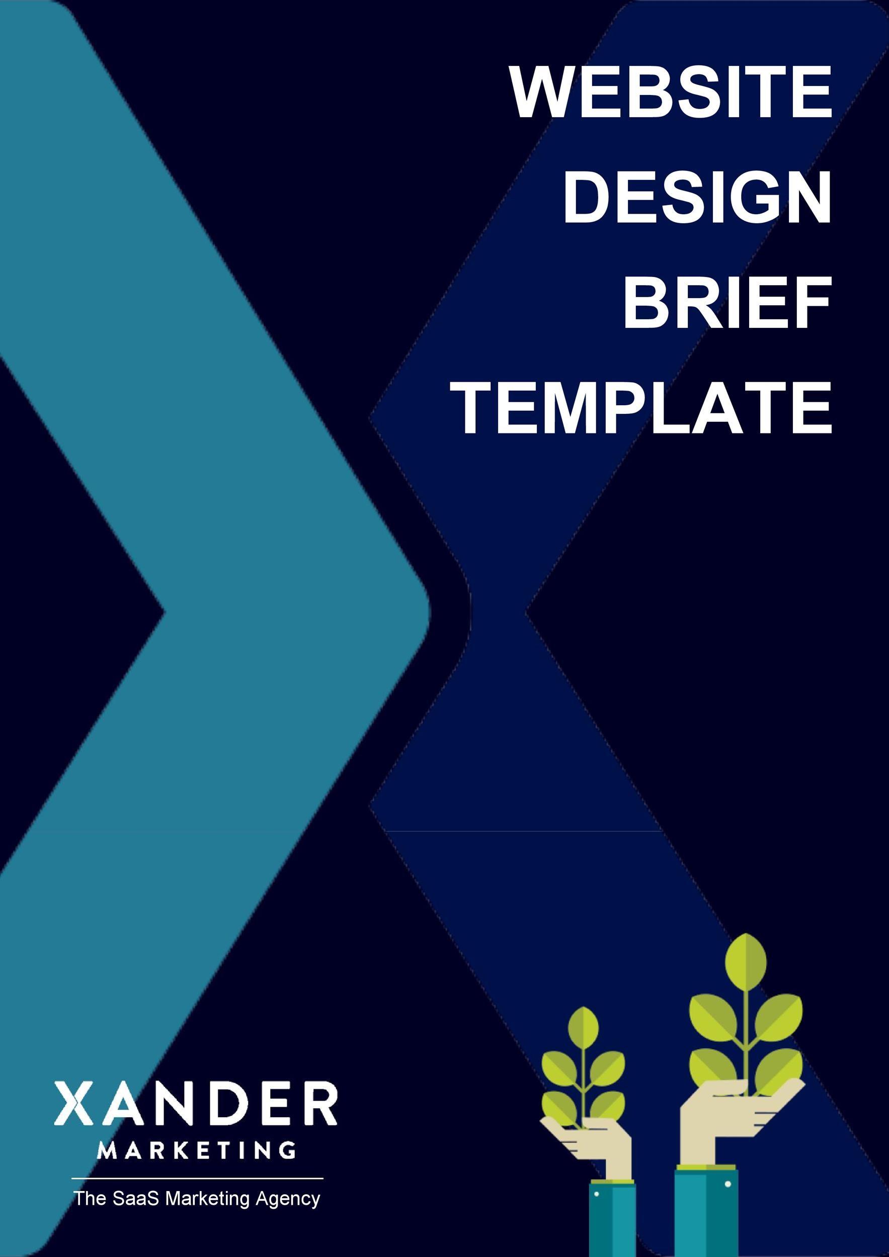 Free design brief template 49