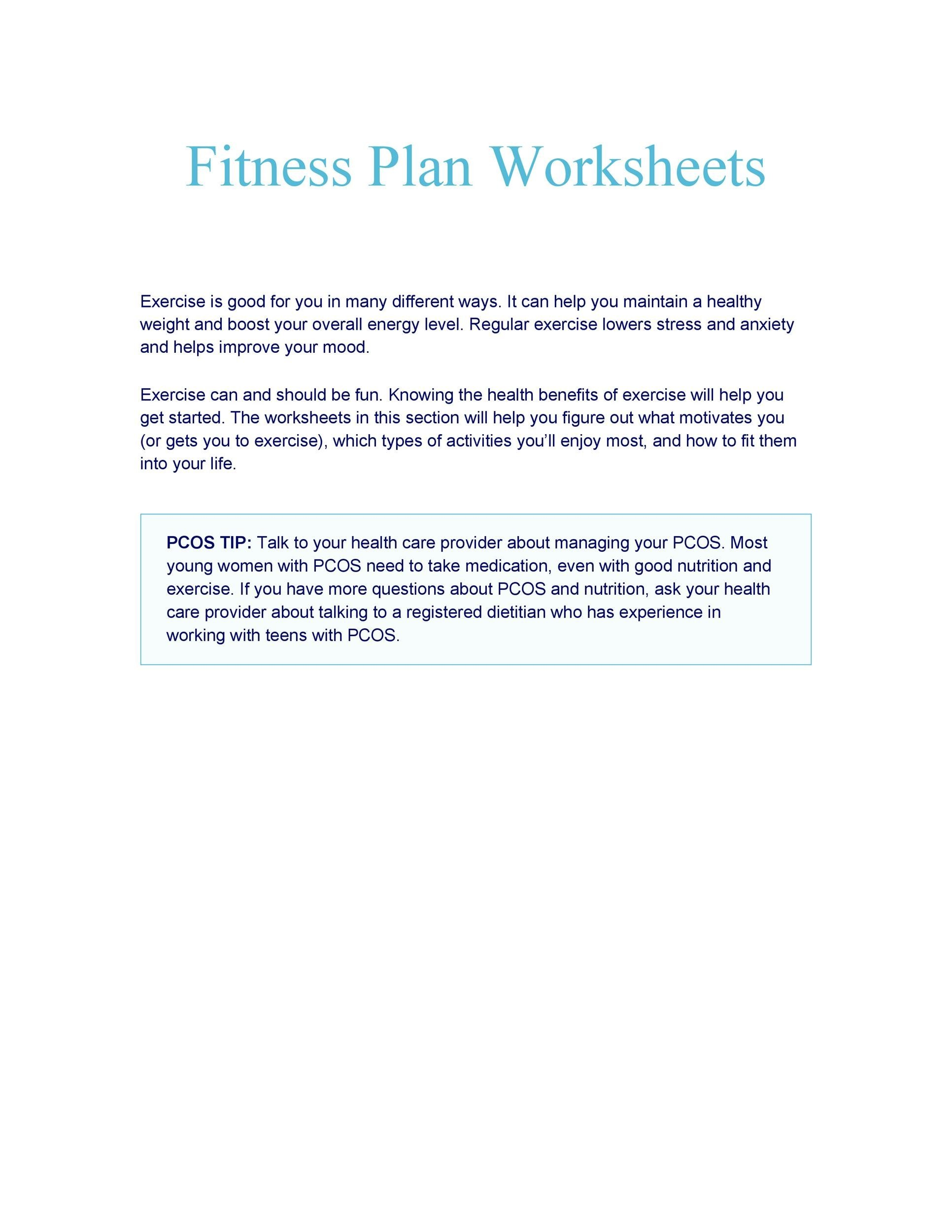 photograph relating to Printable Exercise Chart named 46 Printable Physical fitness Charts (100% Cost-free) ᐅ Template Lab