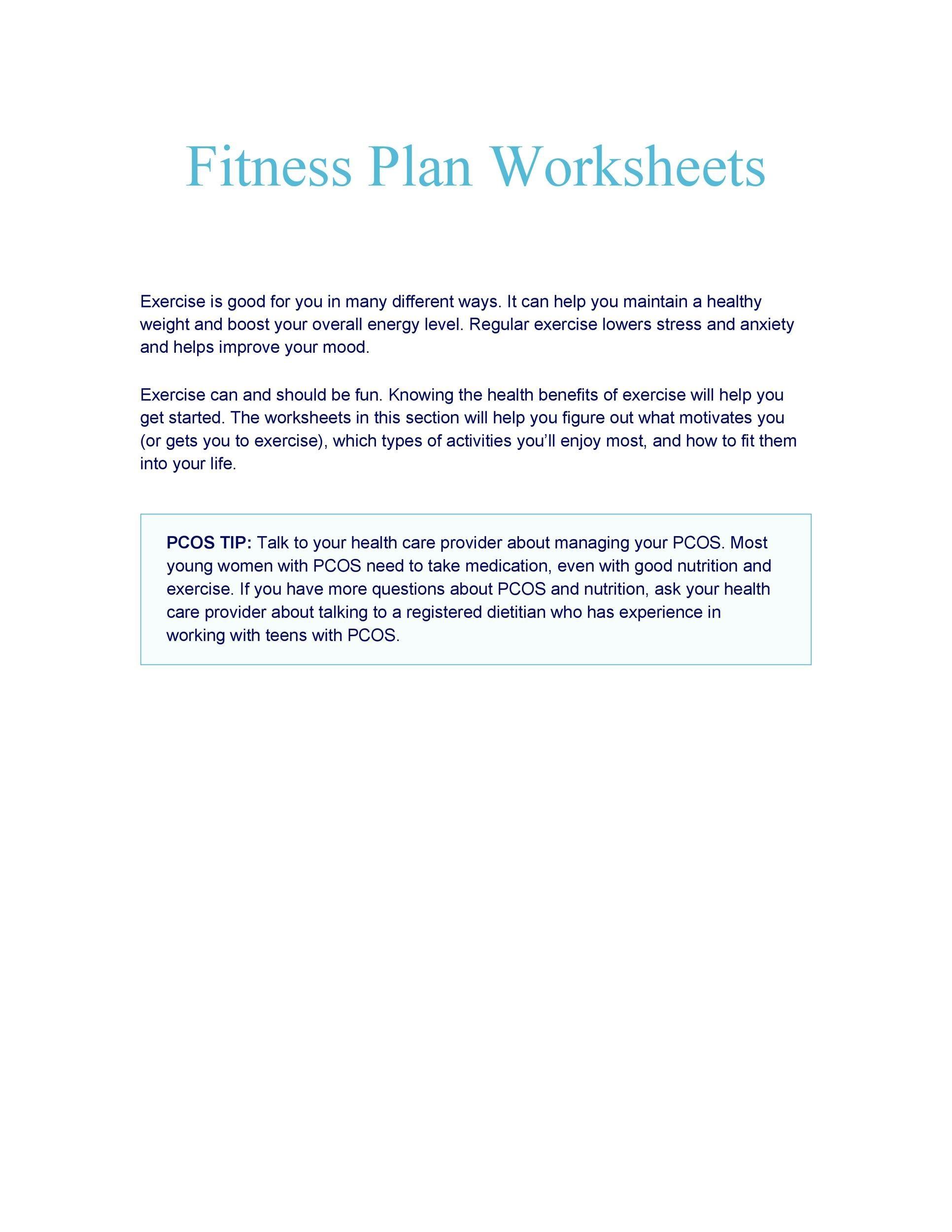 Free exercise chart 01