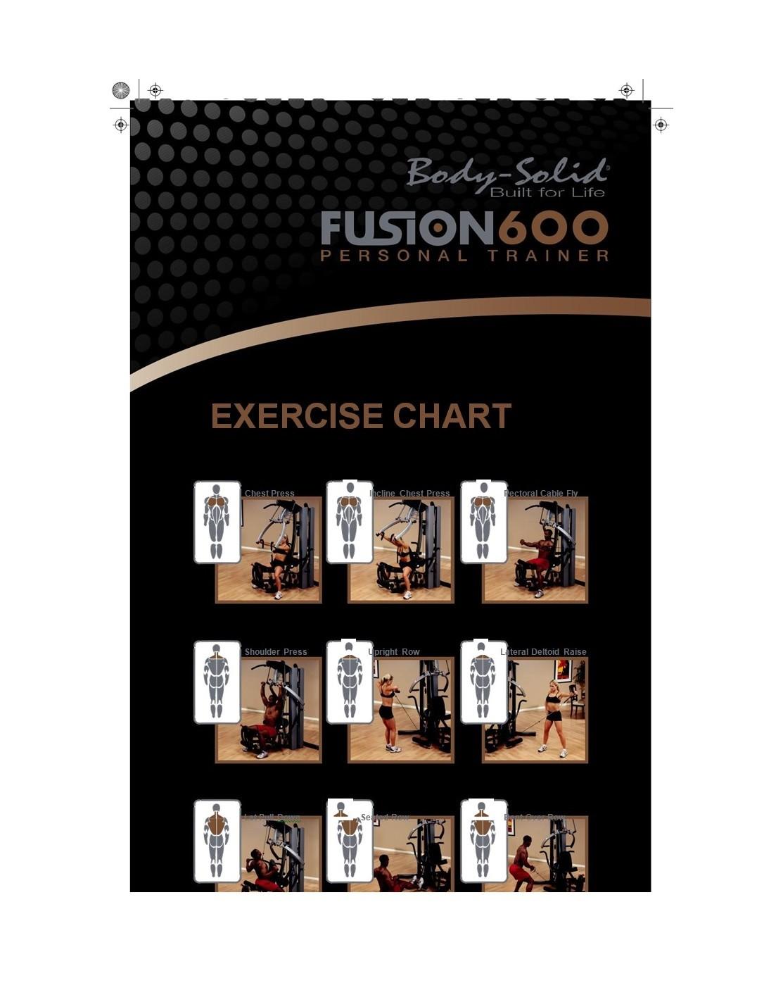 Free exercise chart 42